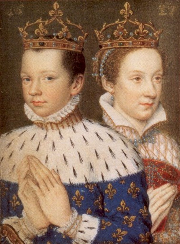 The actual Francis and Mary.