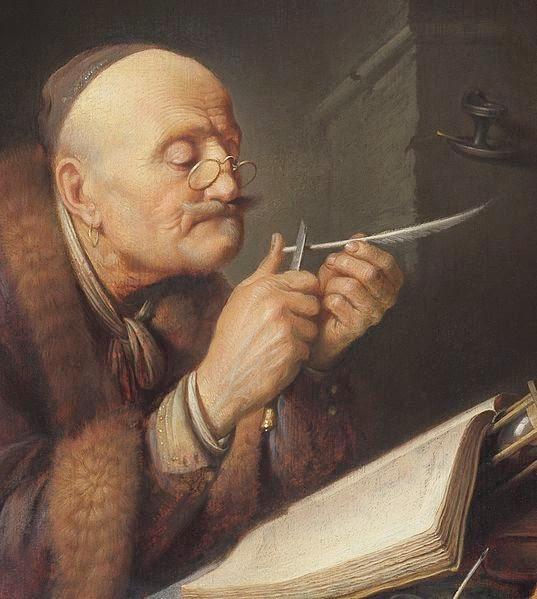 Gerrit_Dou_-_Scholar_sharpening_a_quill_pen.jpg