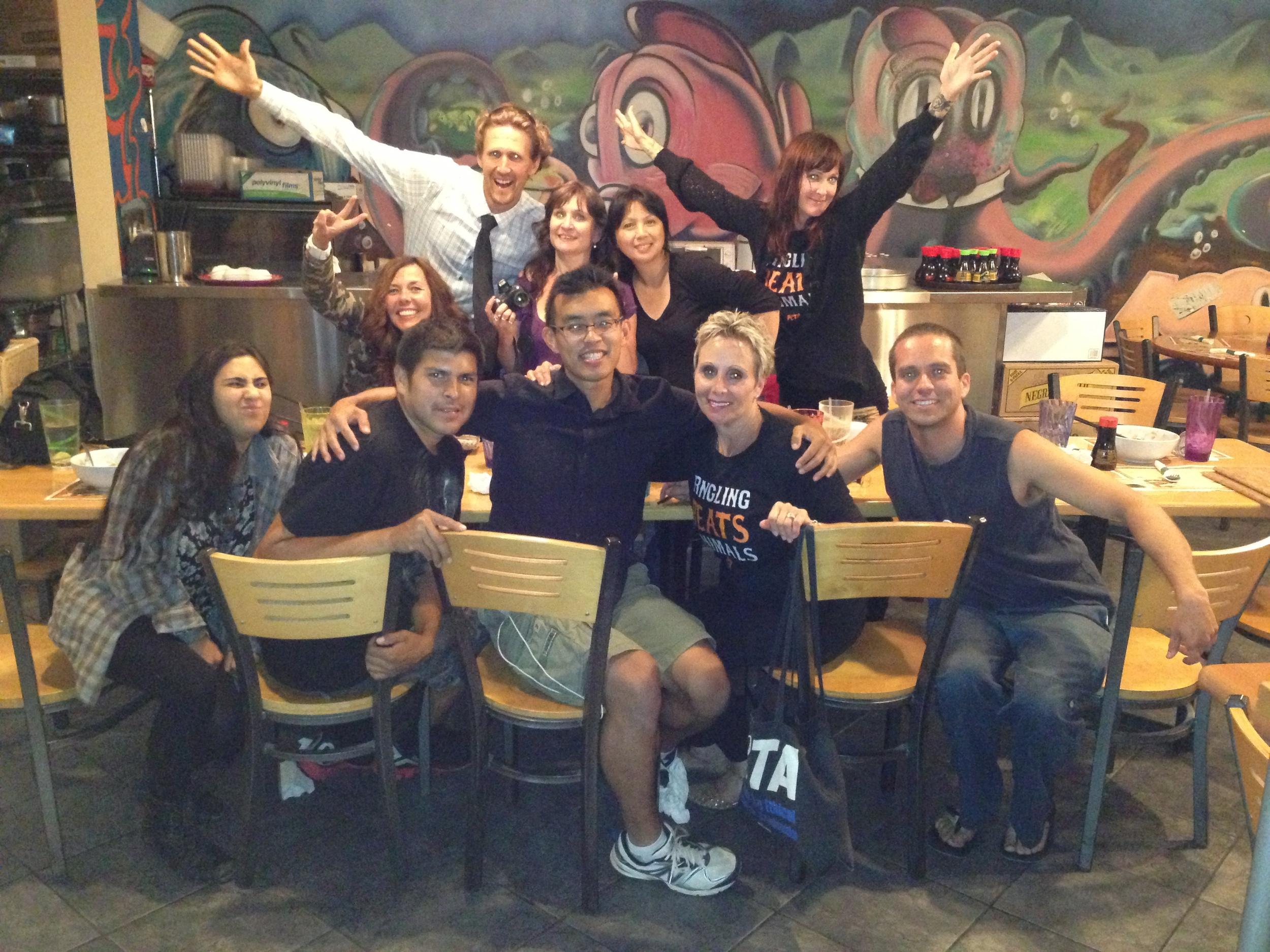 The fabulous crew, post Ringling.