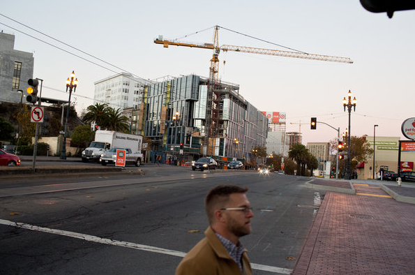 Construction in the Bay Area is booming, but  as the New York Times notes , the beneficiaries are not the city's historical residents, but tech companies and their wealthy employees.