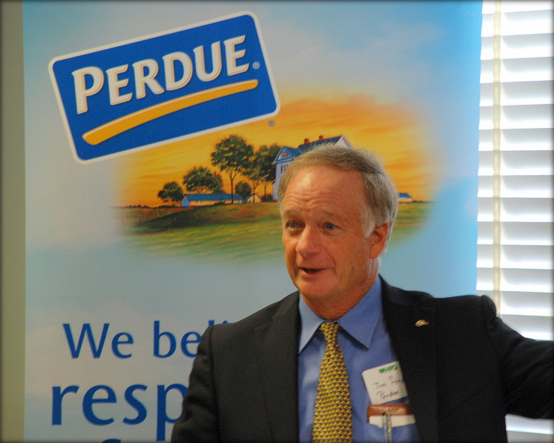 Jim Perdue, chairman of Perdue Farms since 1991, is the new owner of Niman Ranch.