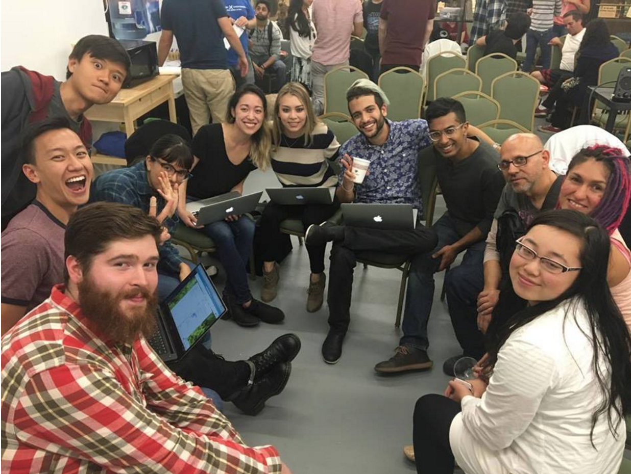 At the monthly new activist orientation, DxE's Design Group introduces new activists to design work they can do remotely to help animals.