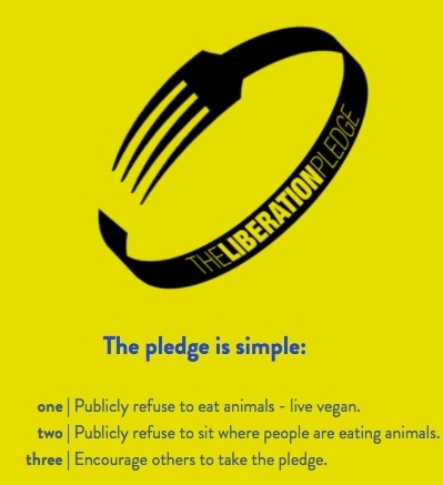 The  Liberation Pledge : a strategy for animal rights activists.