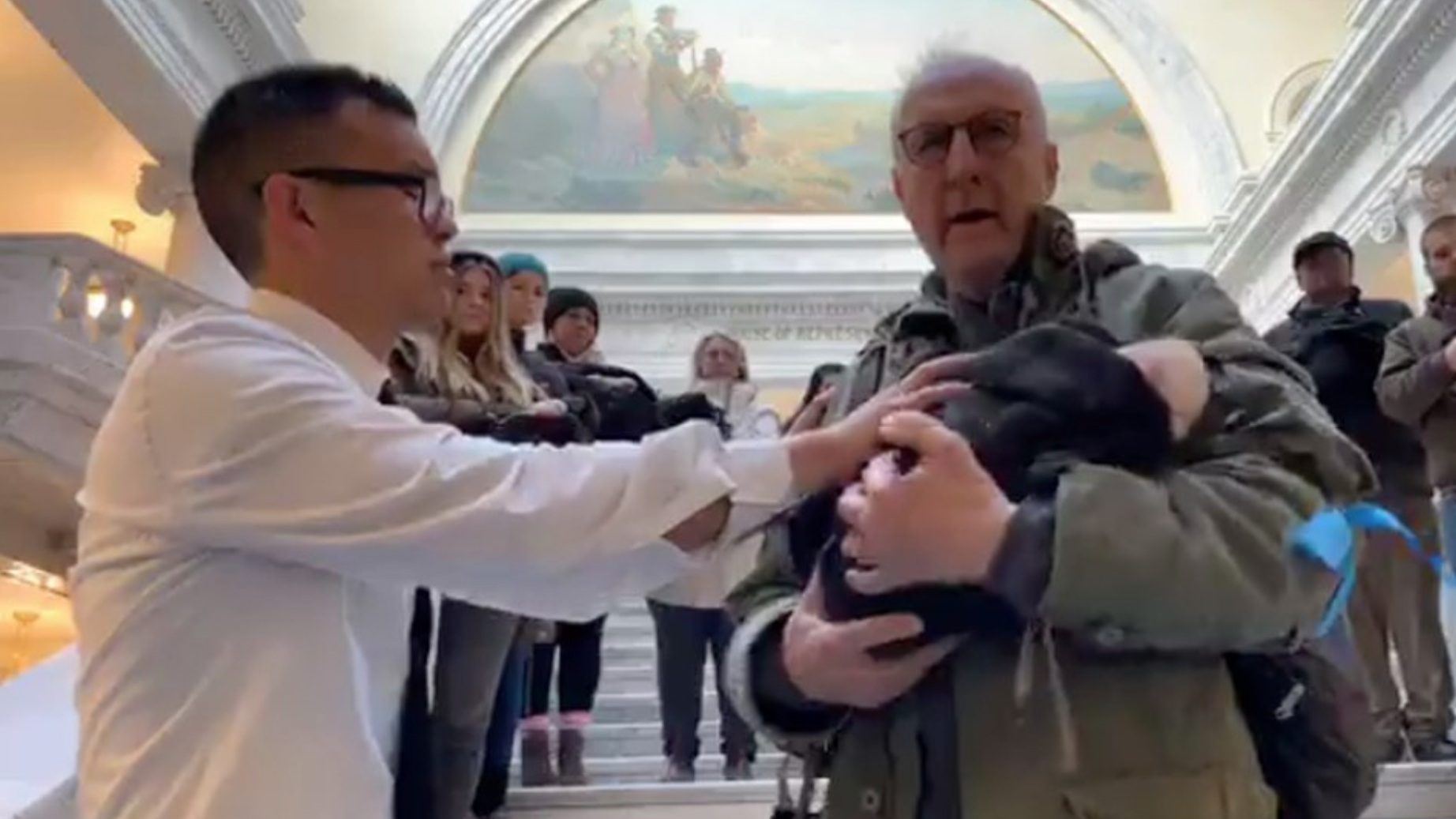 The star of 'Babe' brought a dead piglet to the Utah Capitol to make a point about animal cruelty - November 20, 2018The Salt Lake Tribune