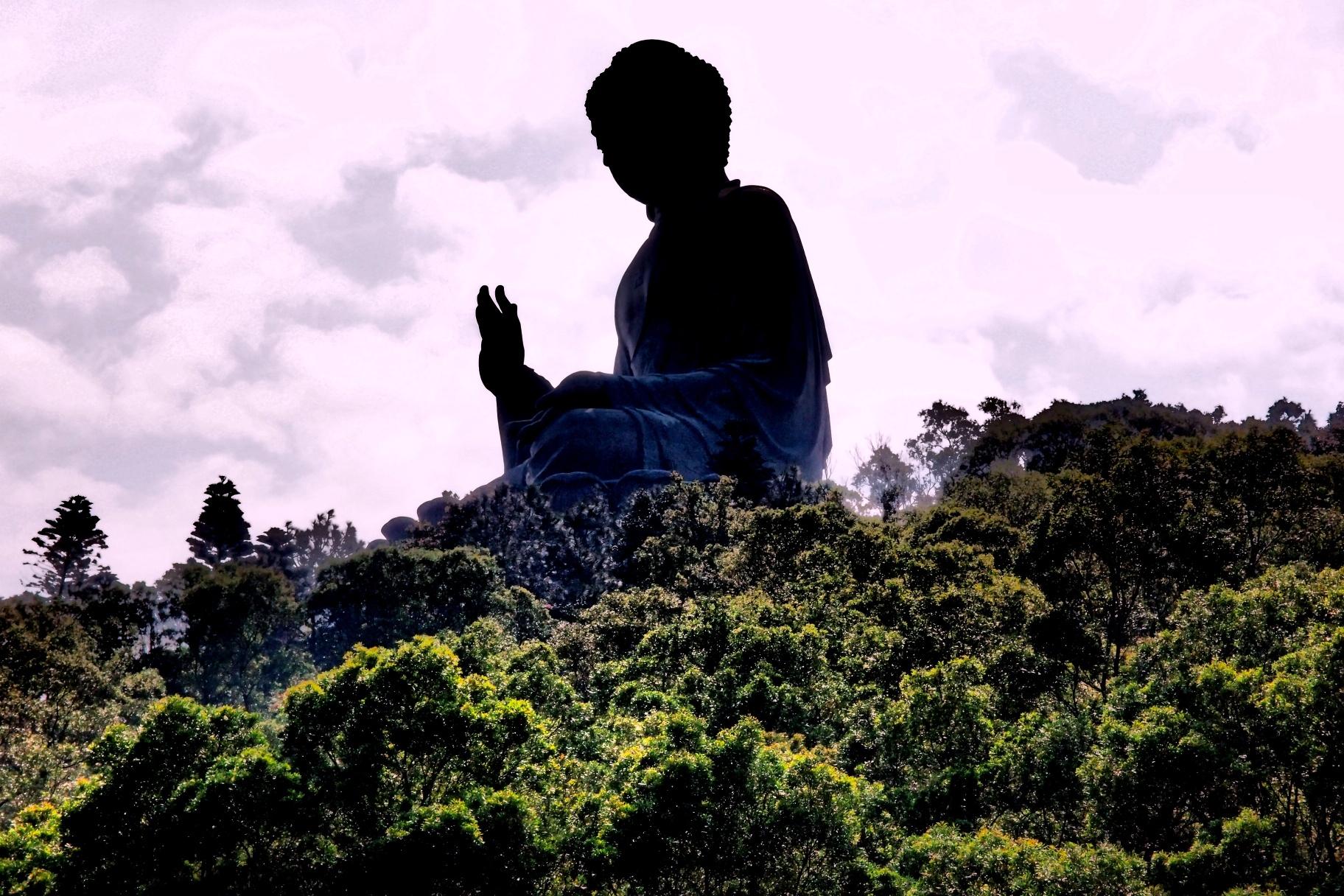 The Giant Buddha on Lantau Island