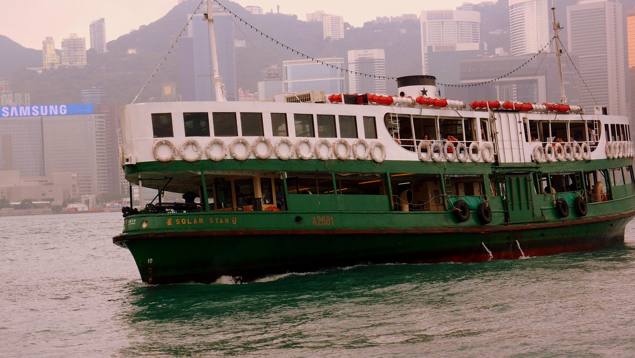 According to National Geographic magazine riding the Star Ferry is one of the top 50 things to do when you travel!