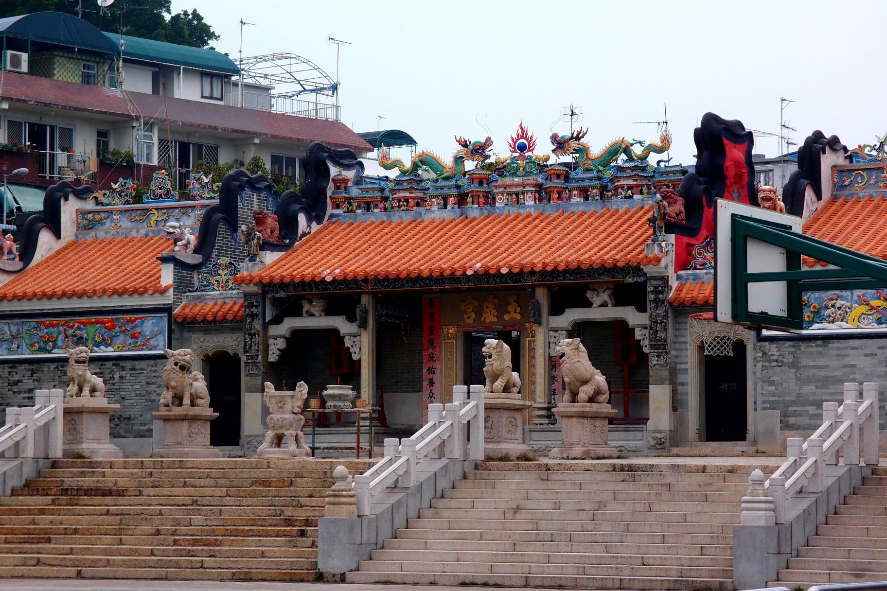 The famous Pak Tai Temple