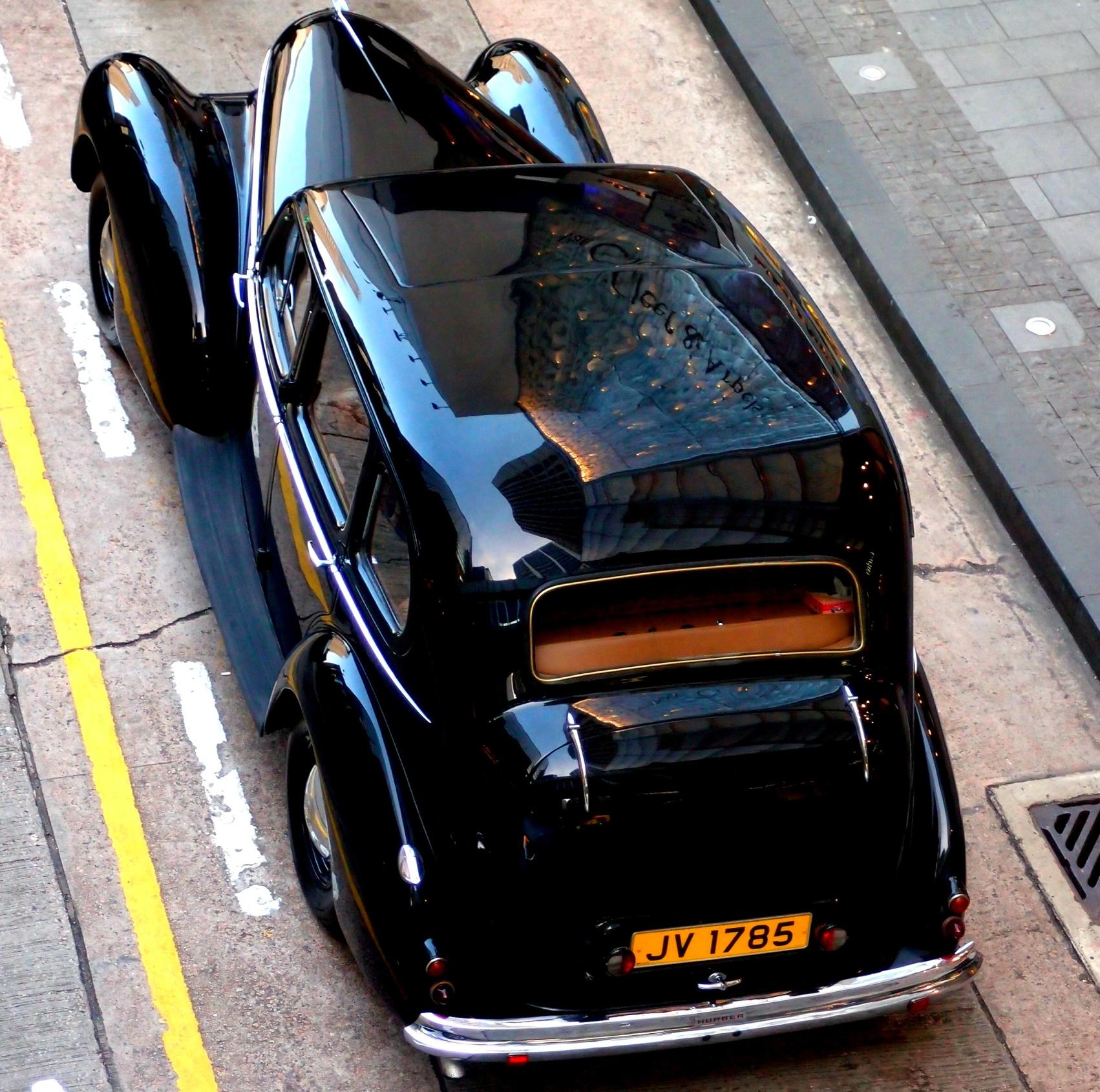 A very rare car in Hong Kong