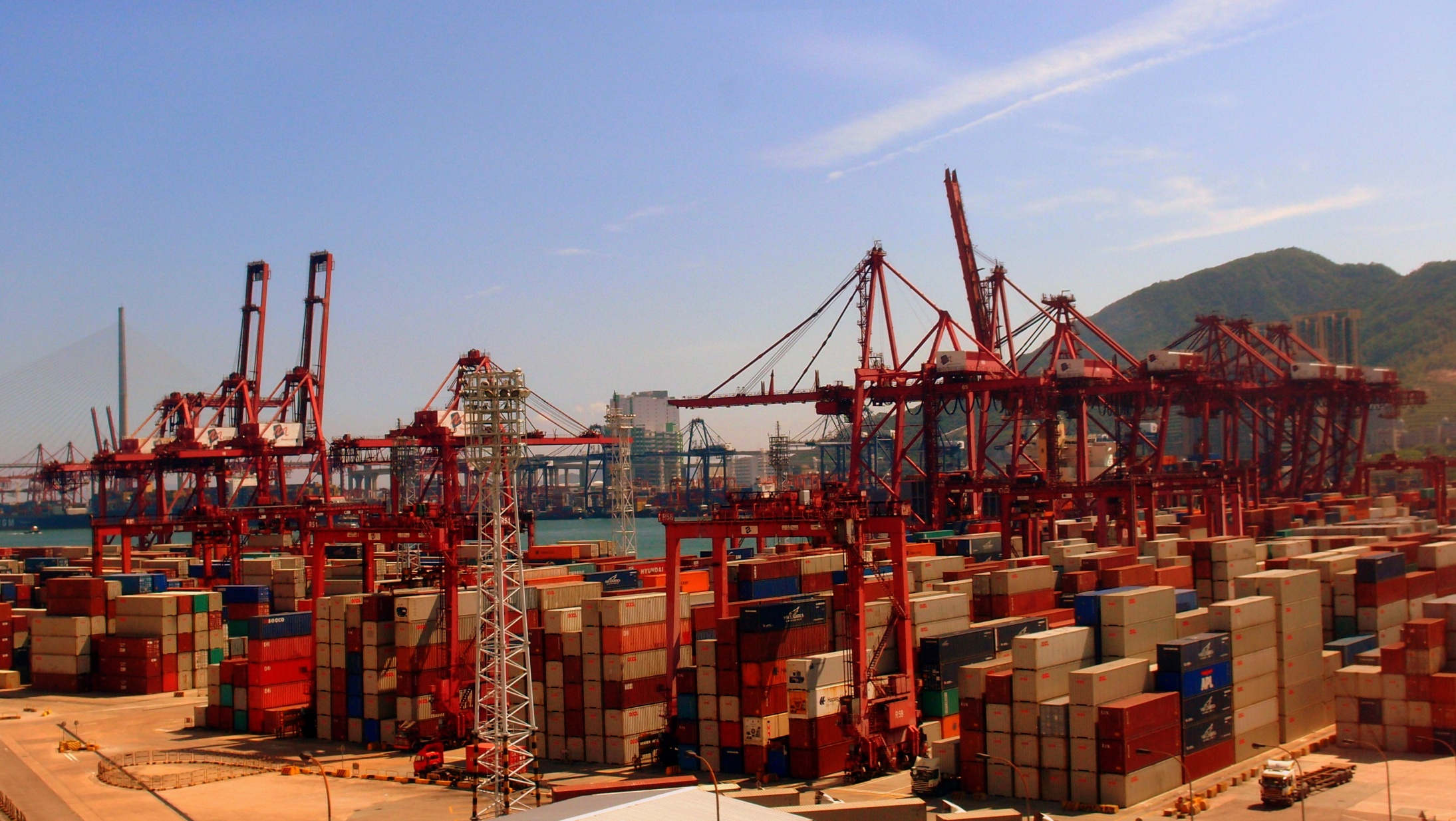 The Kwai Chung Container Port