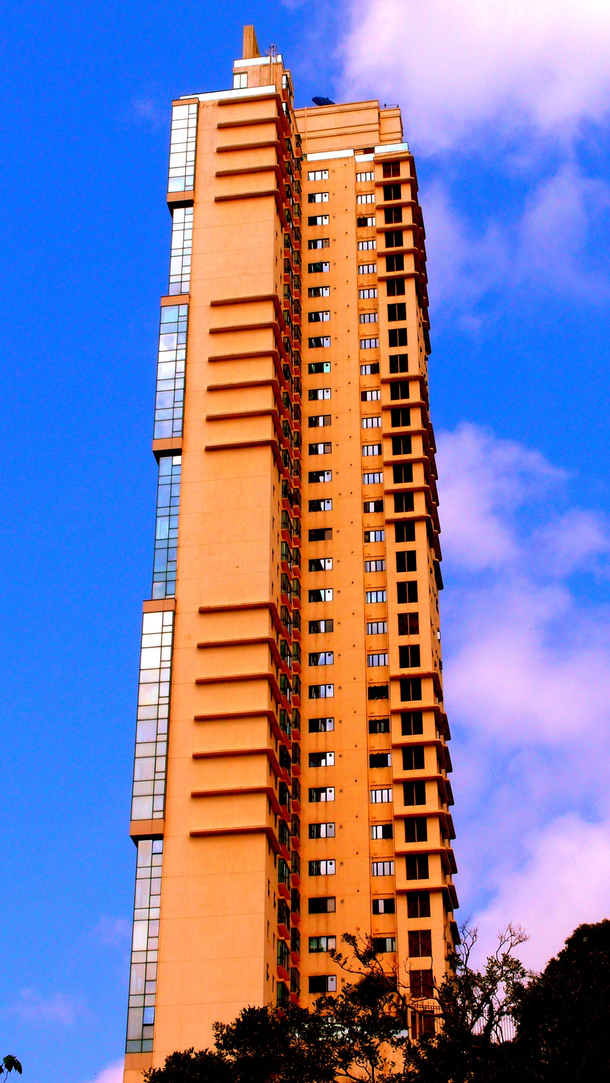 Another fancy apartment block