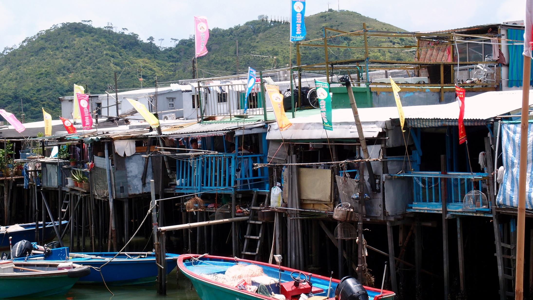 Not the most luxurious housing in Hong Kong