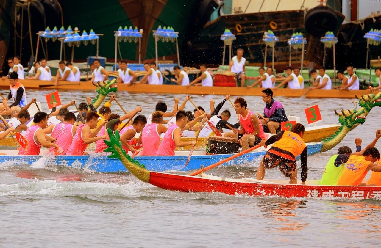 """More Dragon boats at Cheung Chau courtesy of """"K'"""