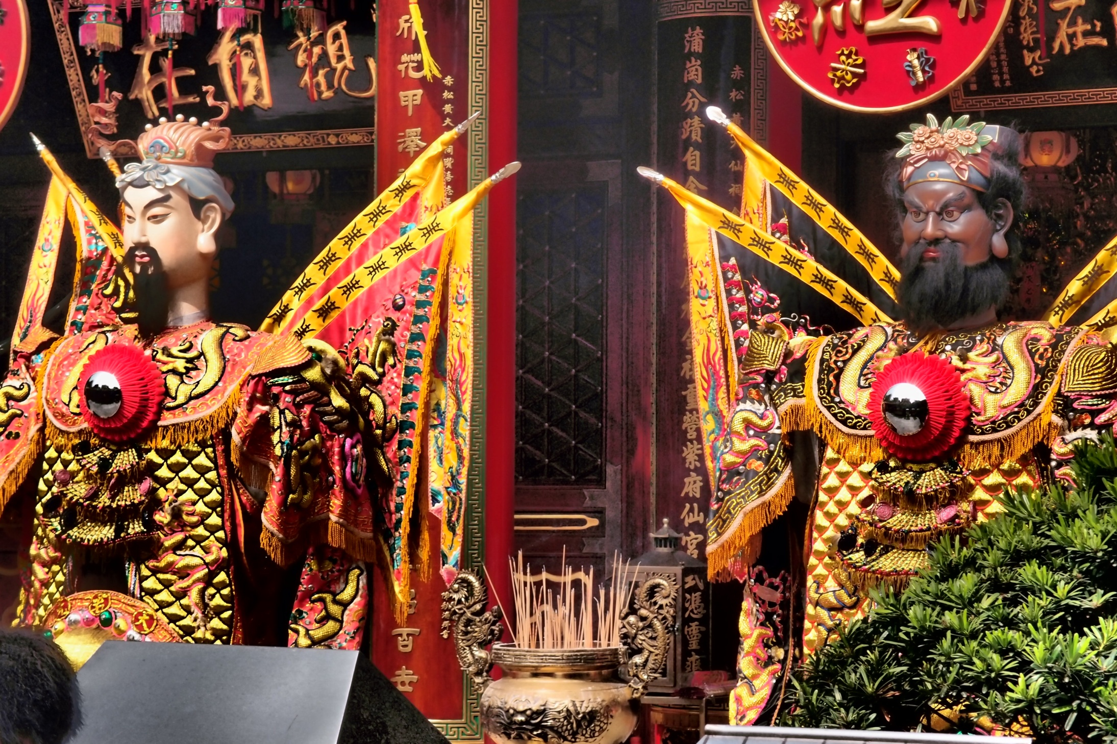 All hail the gods. The Sik Sik Yuen Wong Tai Sin Temple