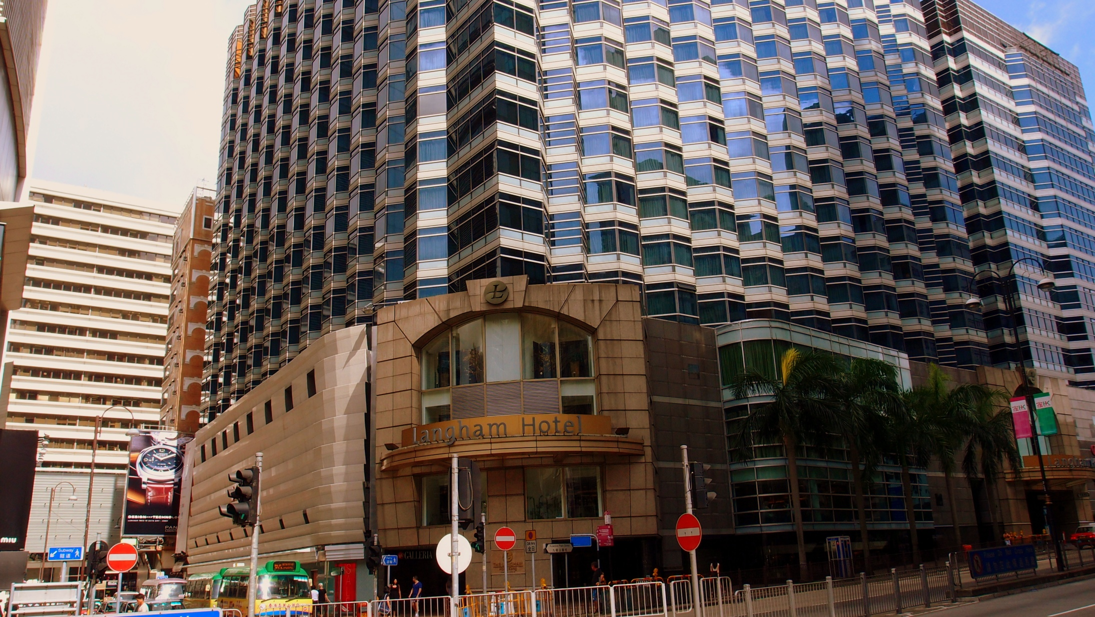 The Langham Hotel, fine hotel in a great location