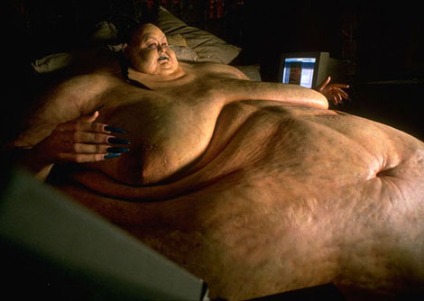 It is actually Pearl the fat vampire from the brilliant movie Blade, he did not die, he went on a diet and came to Hong Kong, he is biding his time waiting to be released from captivity.