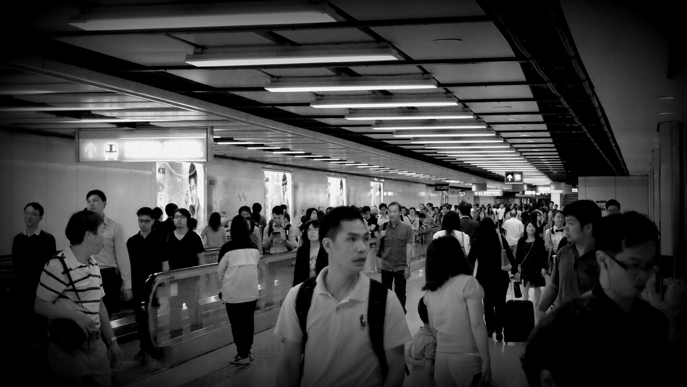 The rush hour mob