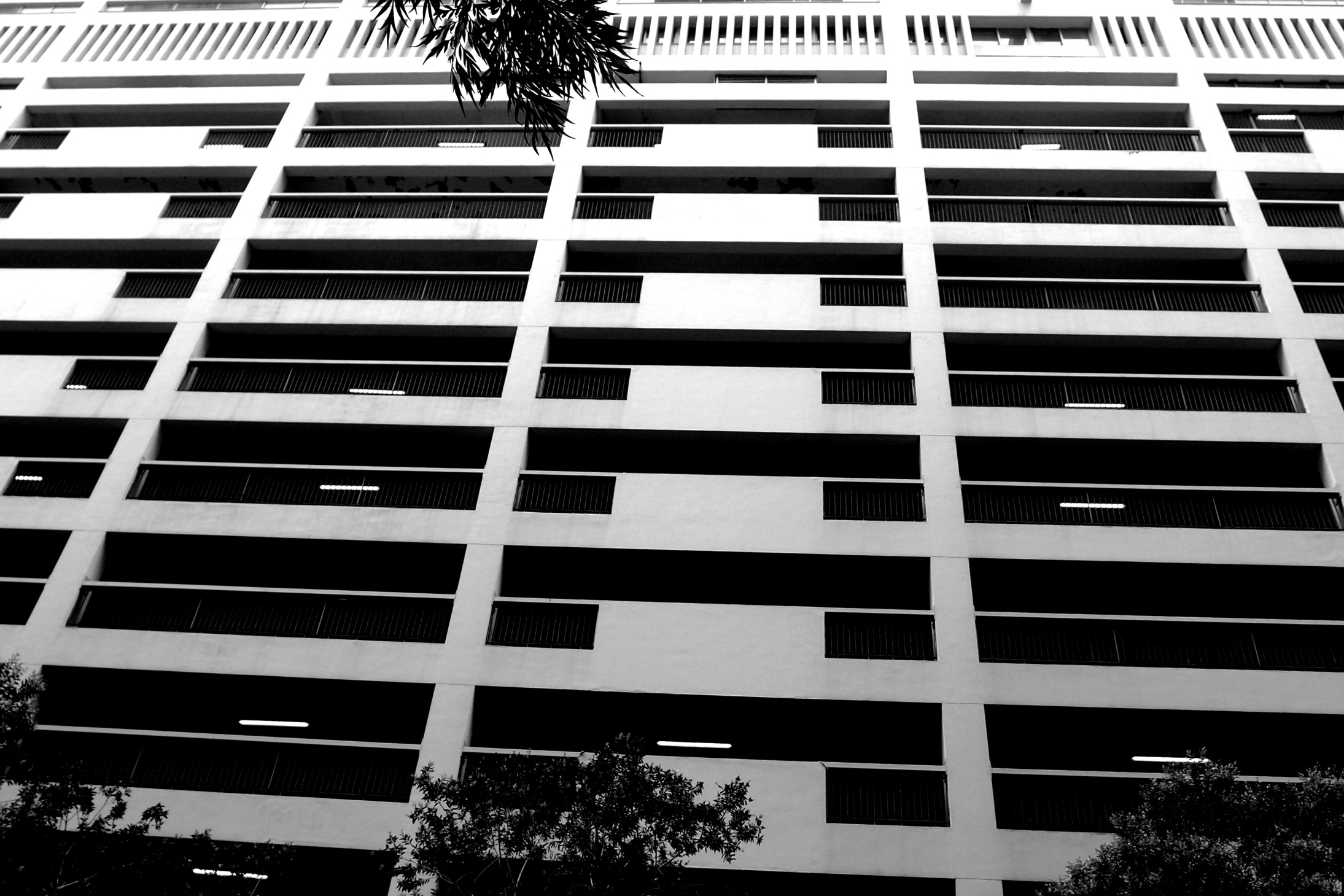 The Middle Road Carpark in TST, Kowloon - I used to go bowling here in the late 1980's / early 1990's. the Bowling Alley is long gone