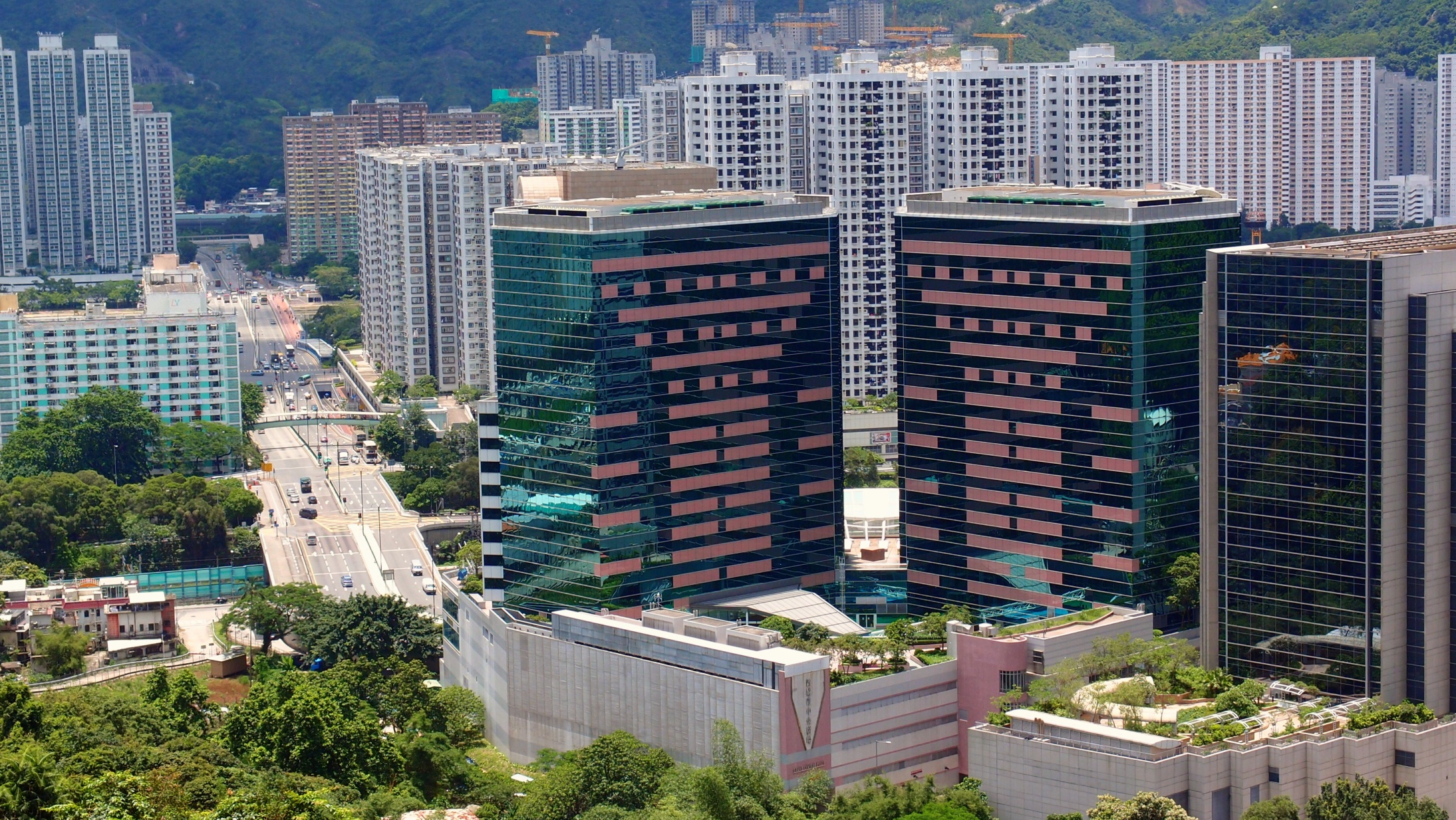 Another great view of Shatin