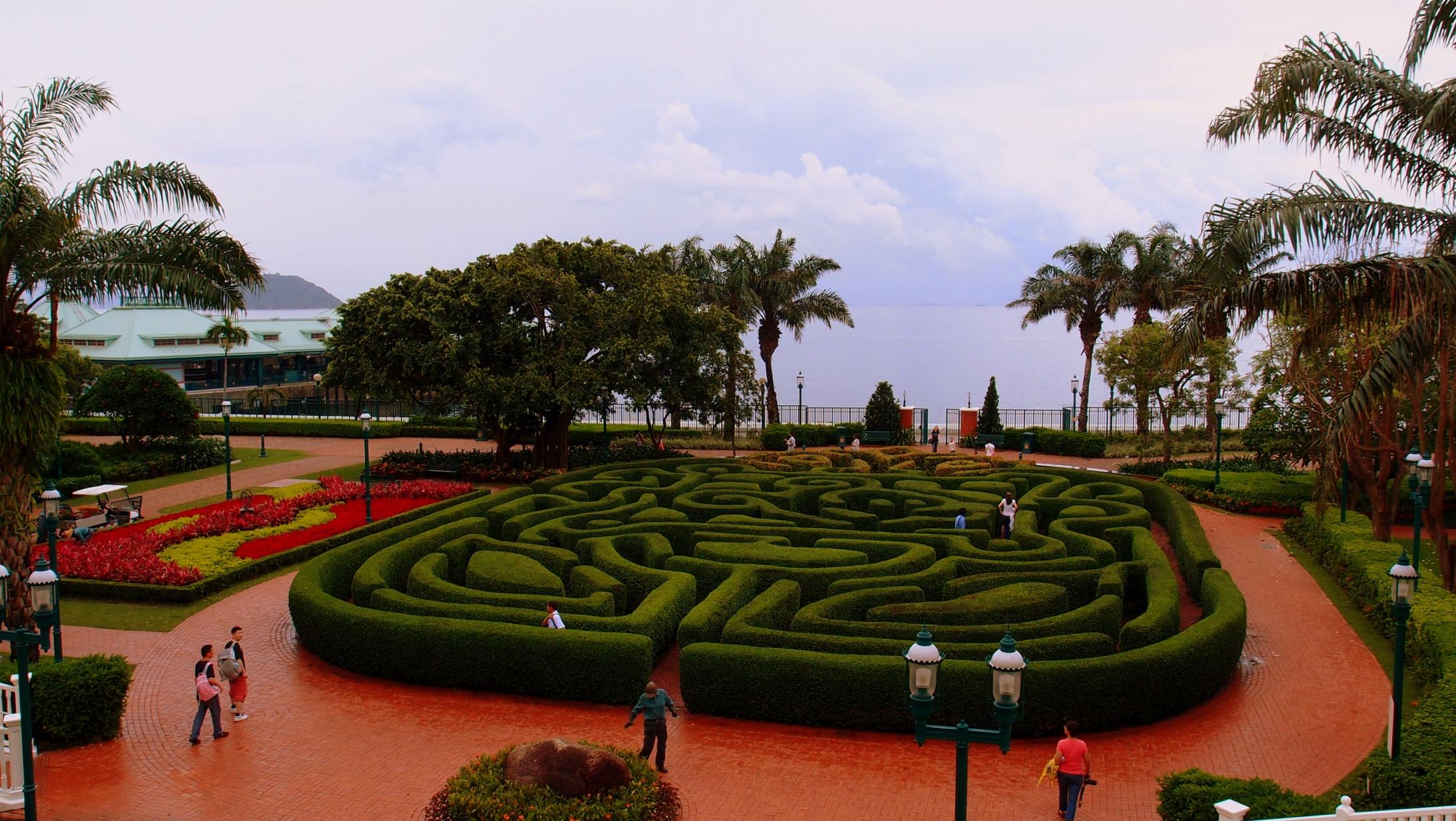 The Disneyland Maze
