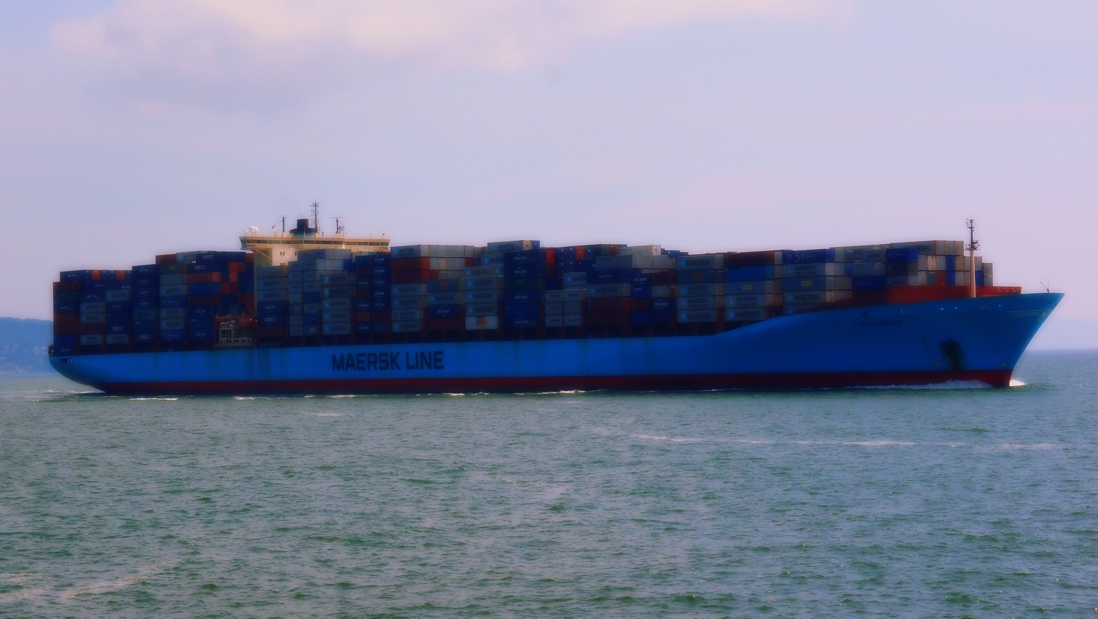 Very large Container Ship
