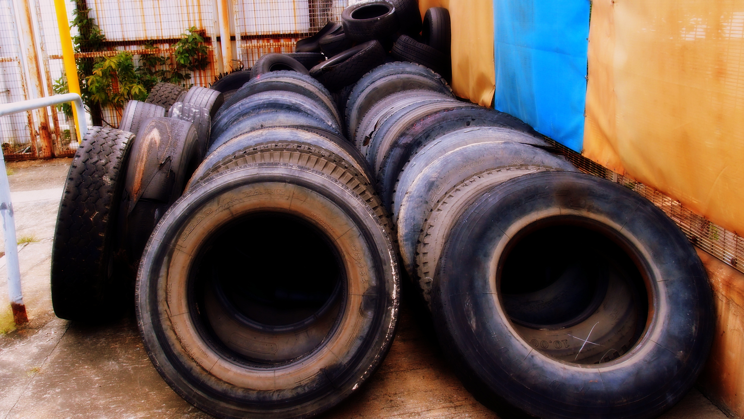 I was tired when I came across these tyres