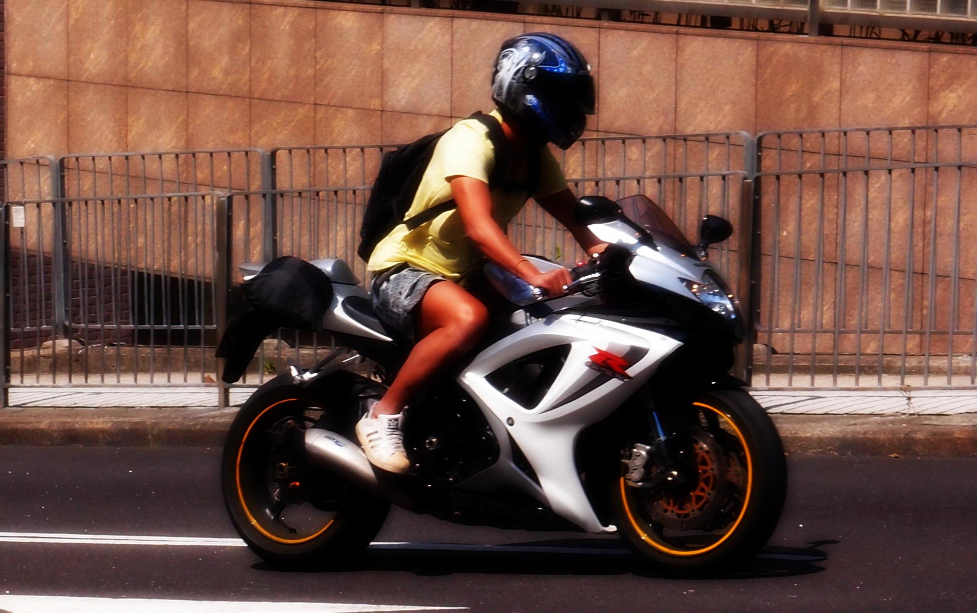 Nice bike... I am not as anorakish about bikes as I am cars.