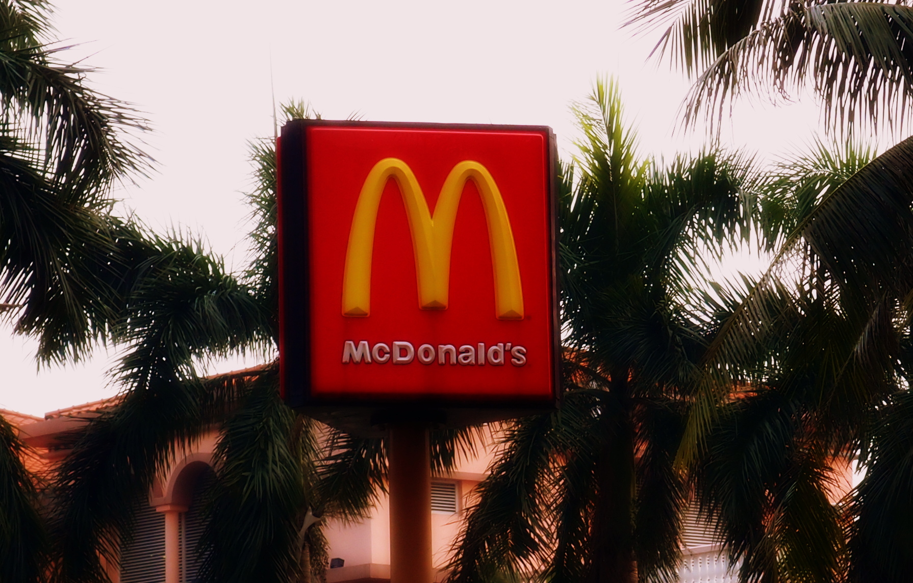 The golden arches of McDonald's - at last count we have 236 of them and many are 24/7 - simply incredible. This one is at the Gold Coast in Tuen Mun.