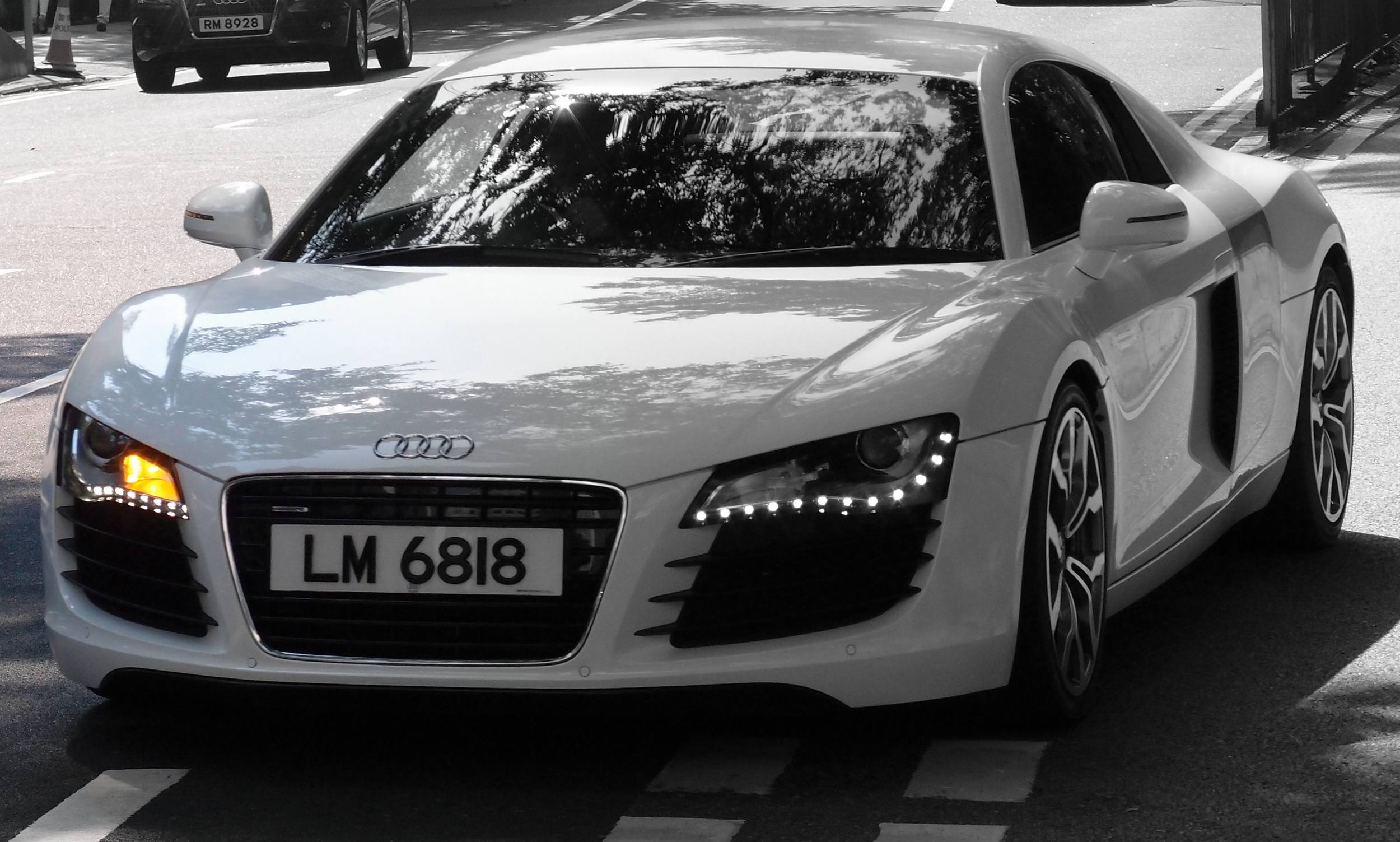 Oh my, a simply awesome Audi R8