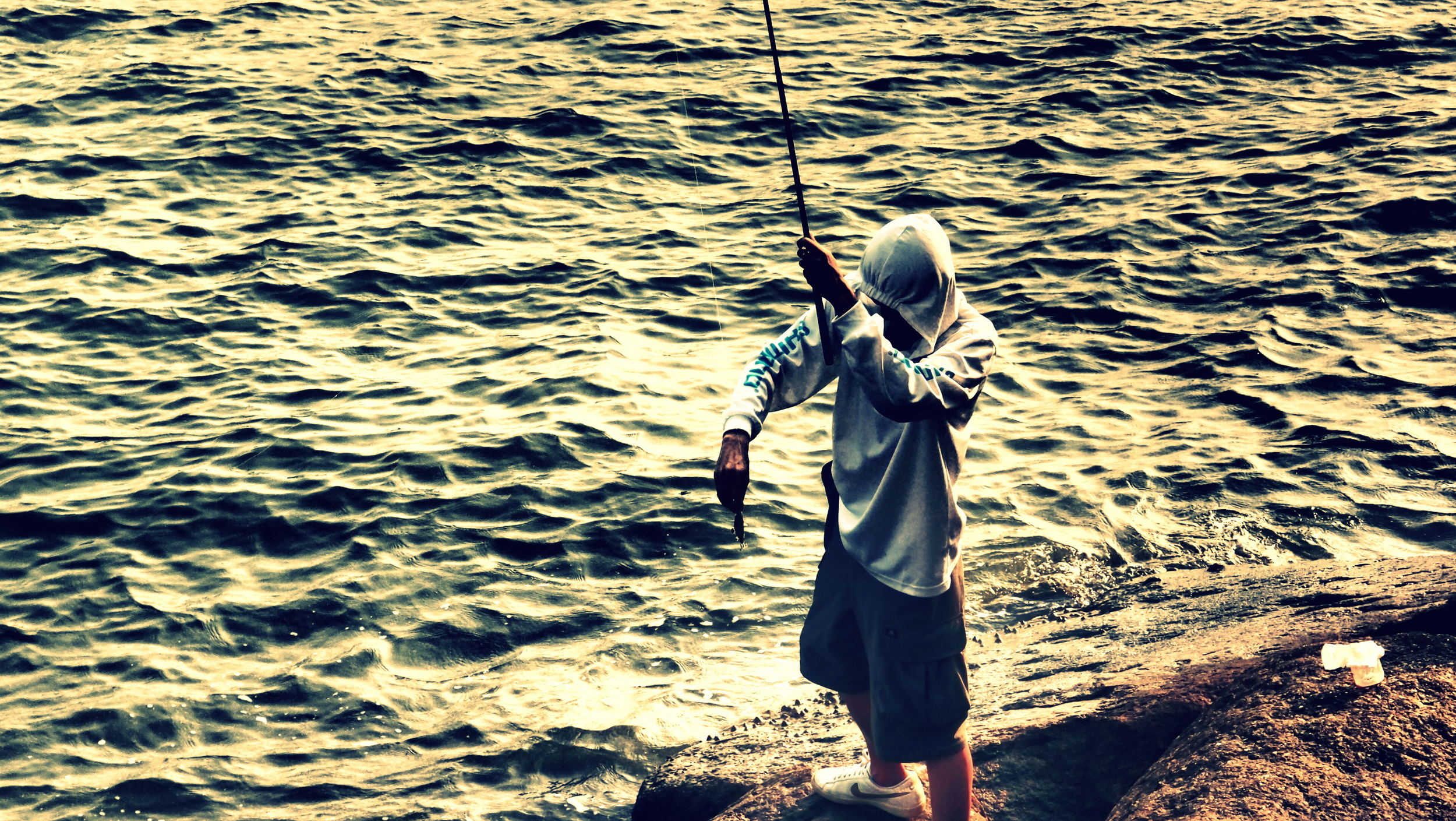 We have youths that wear hoodies, our's go fishing instead of hanging around on street corners