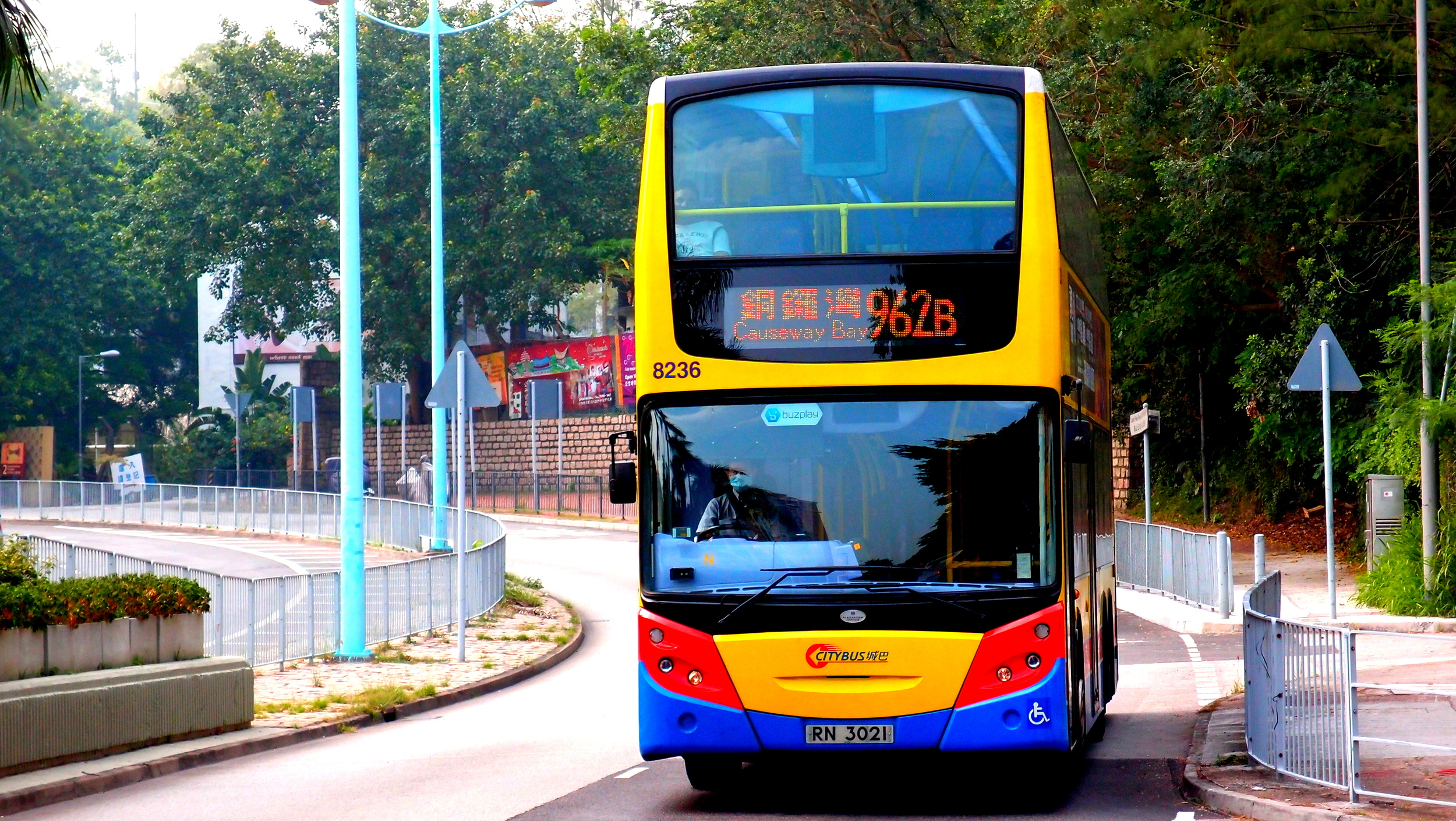 I like the colour scheme of the Citybus buses and the bus is actually very comfortable with a smooth ride