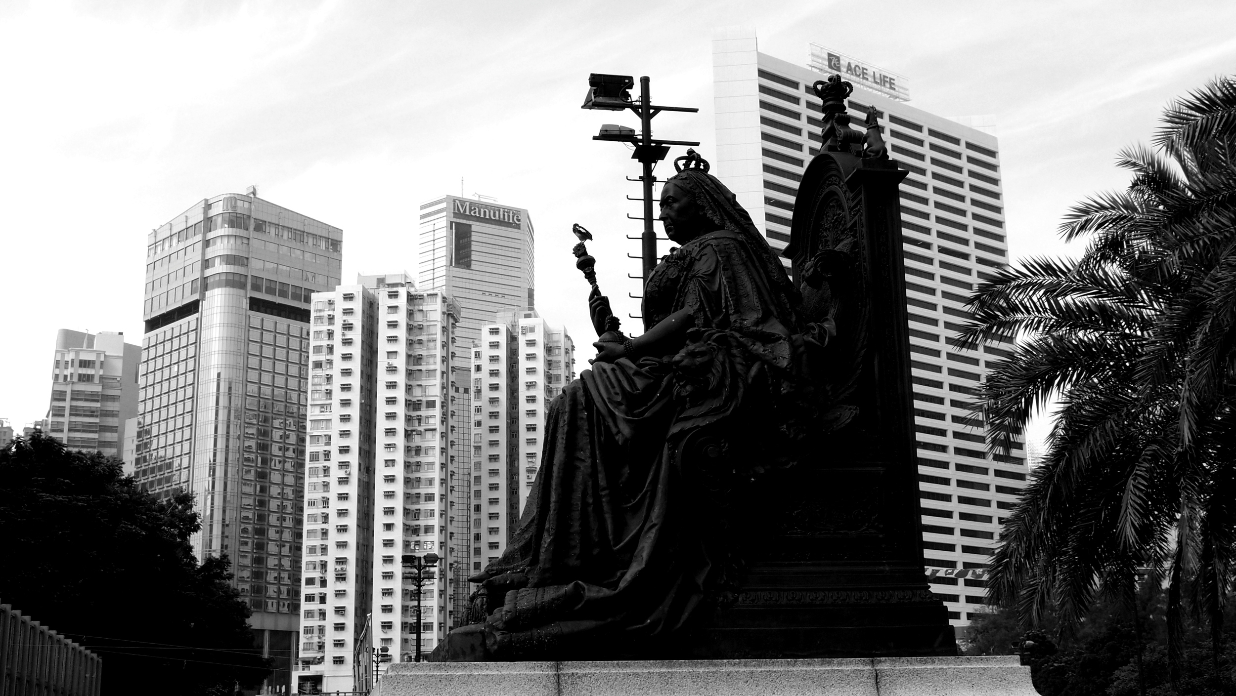 Queen Victoria lives on in Victoria Park in Causeway Bay - simply the most important historical monument in Hong Kong but hard to find unless you have prior knowledge