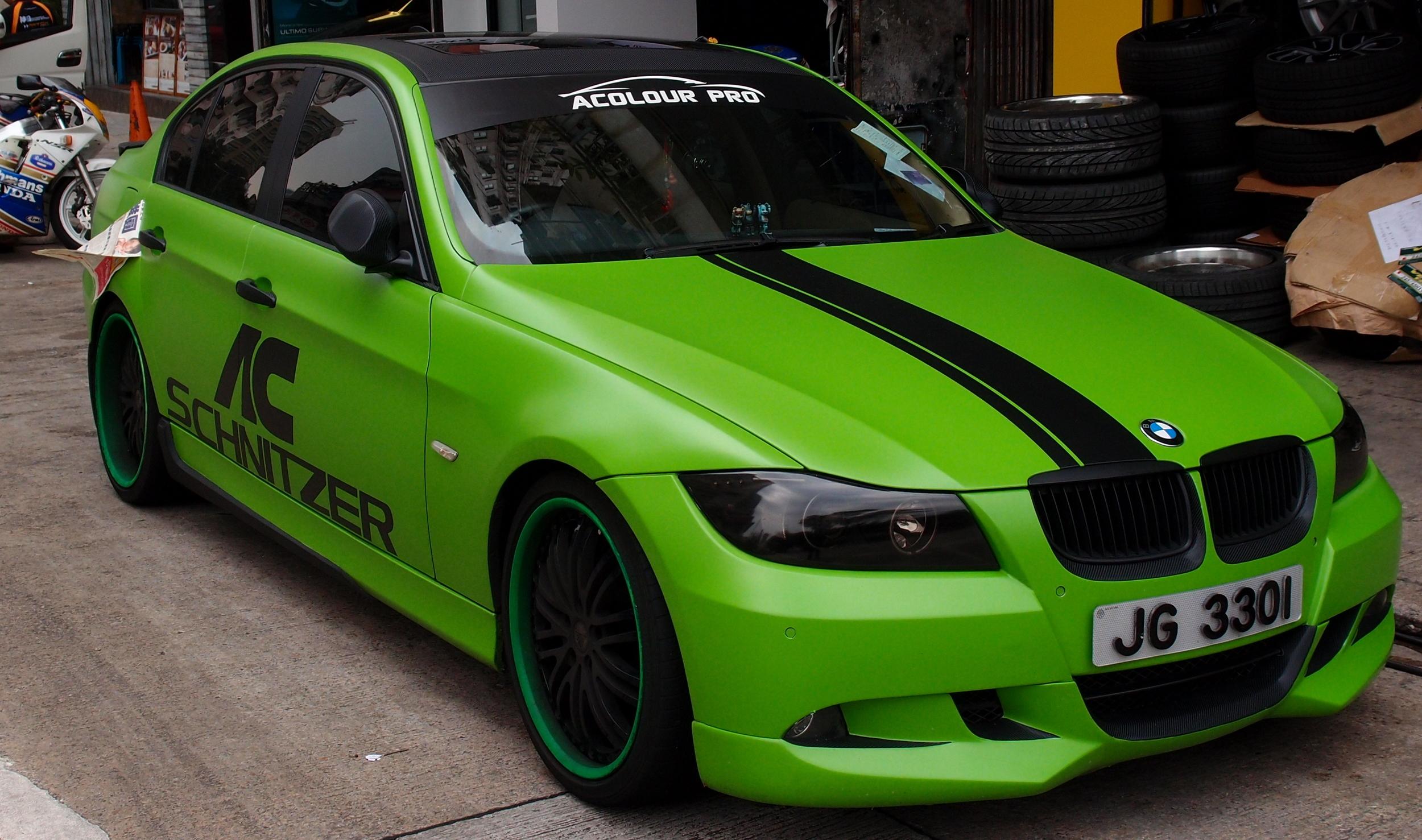 Interesting colour scheme for a BMW