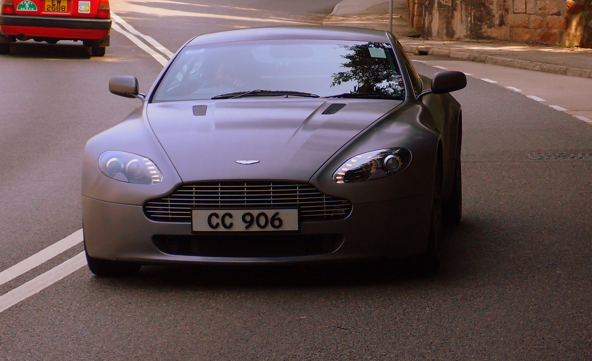 The name is Bond, James Bond - shame about the awful matte paint job on this lovely Aston Martin