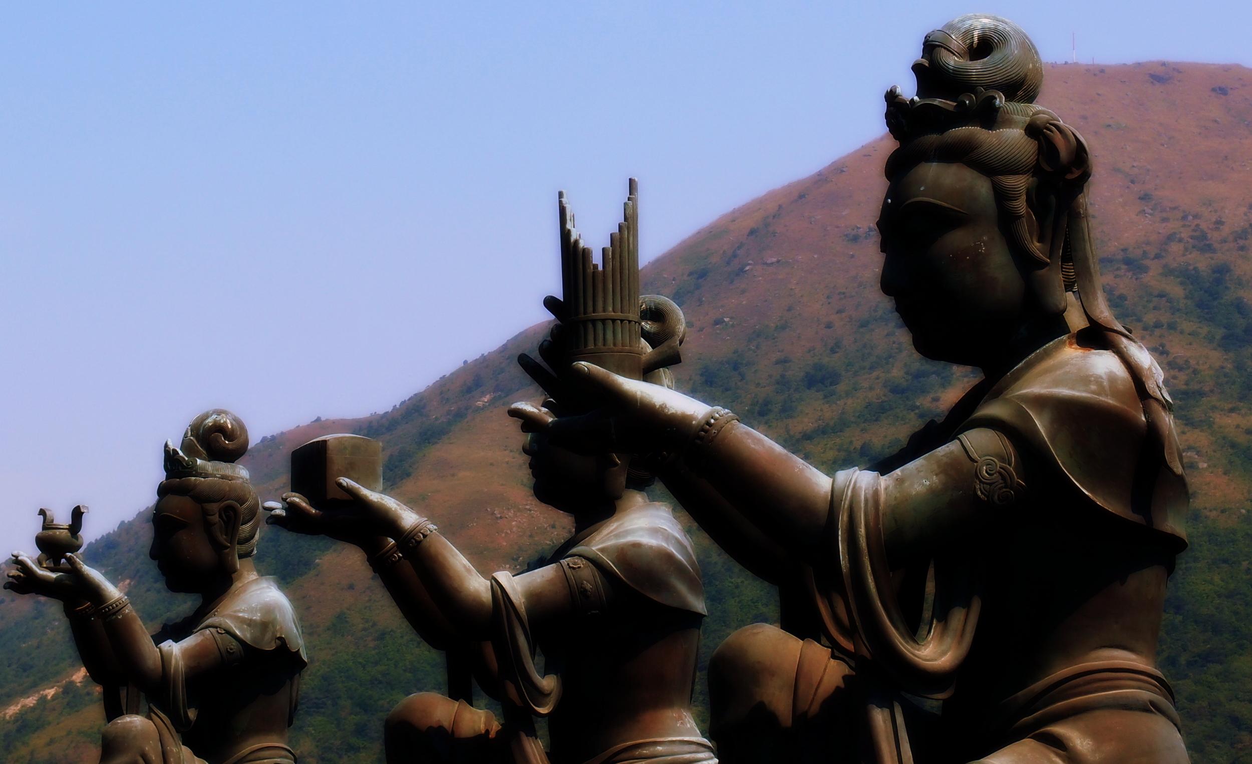 The Giant Buddha - Lantau