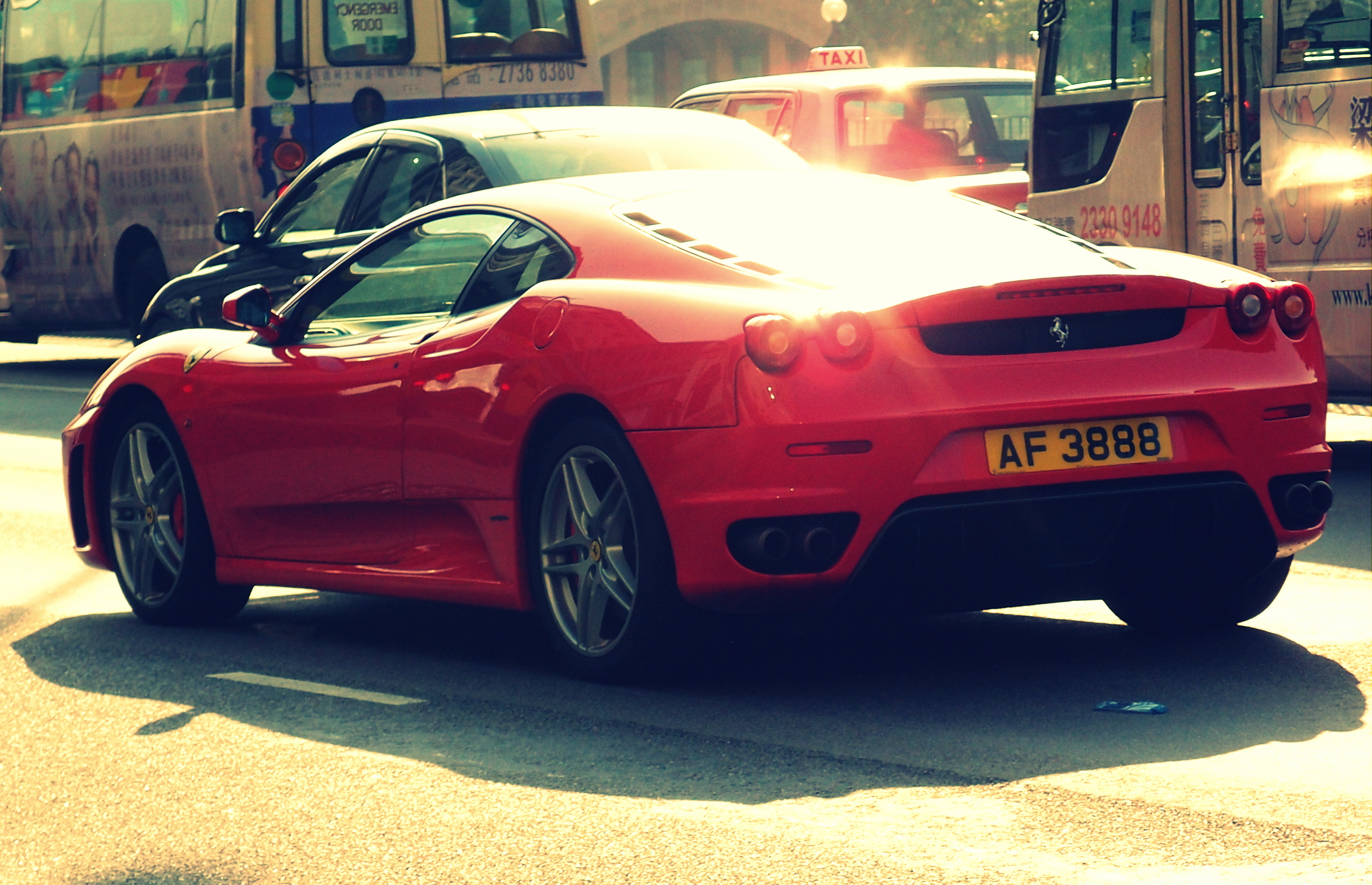 I see this Ferrari all the time