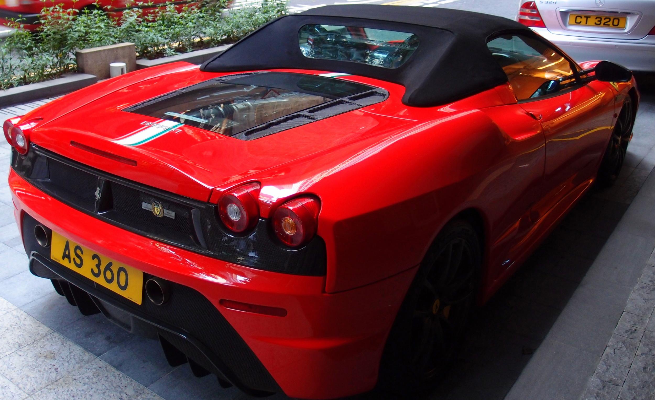 A gorgeous red Ferrari