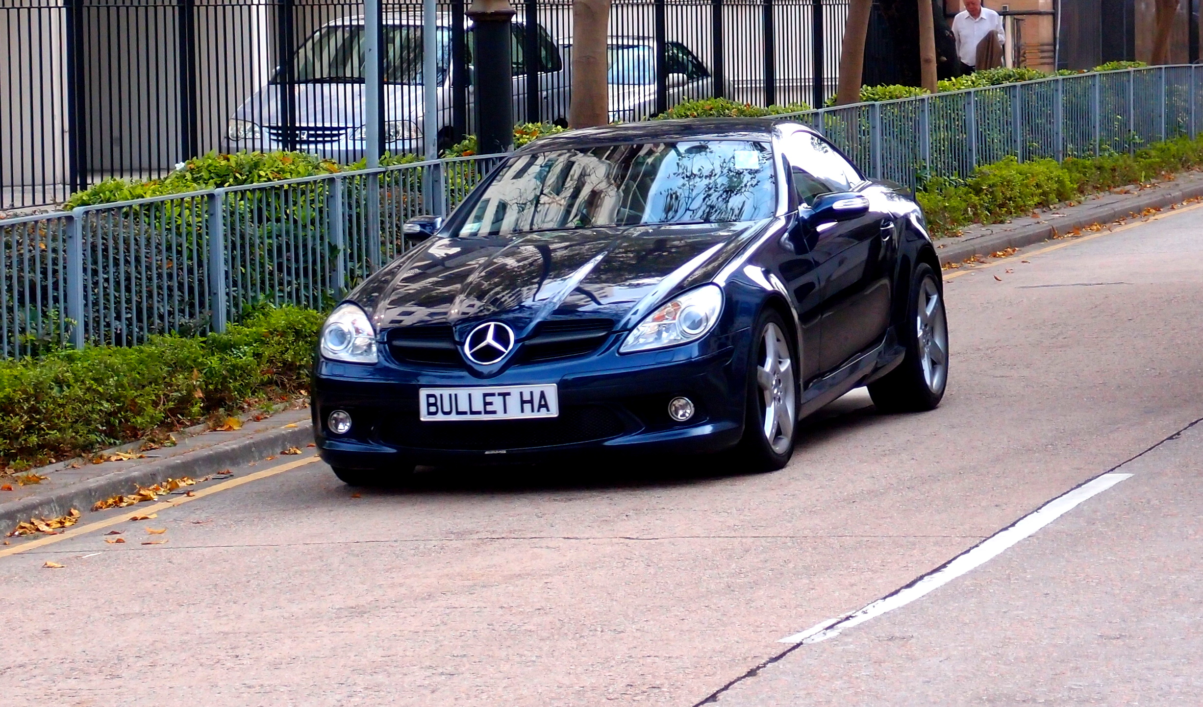 Interesting nickname on a number plate