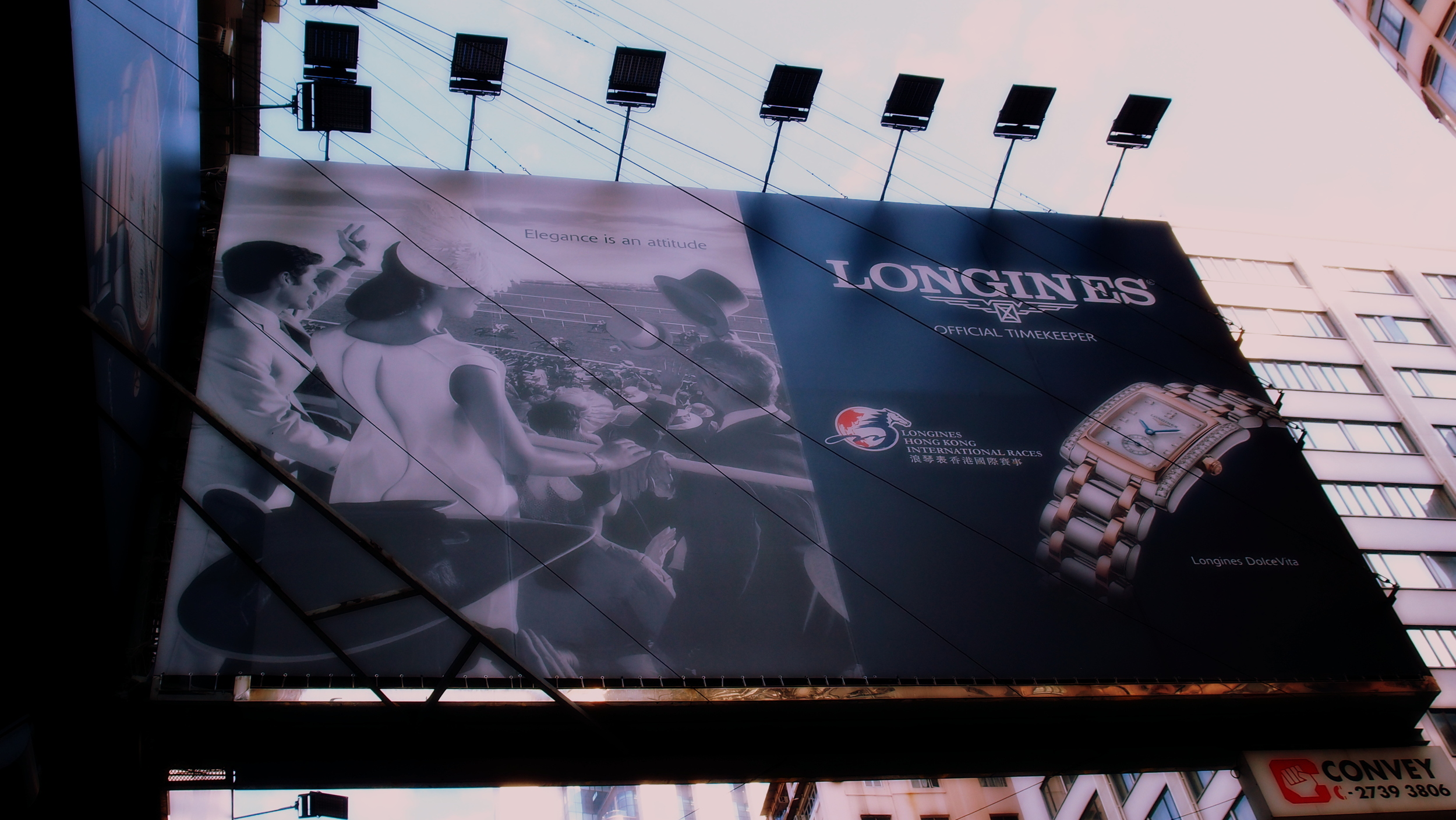 Longines watches have really taken off here but of interest only to the Mainland Chinese tourists not Hong Konger's