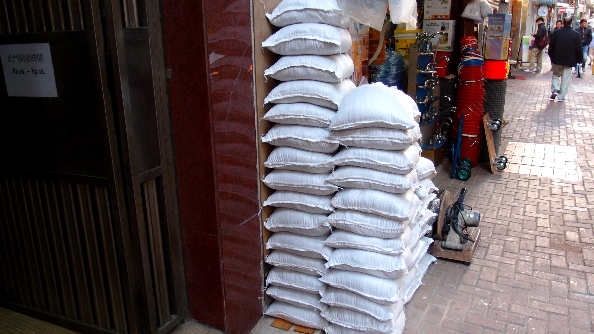 Now I know where to buy sandbags