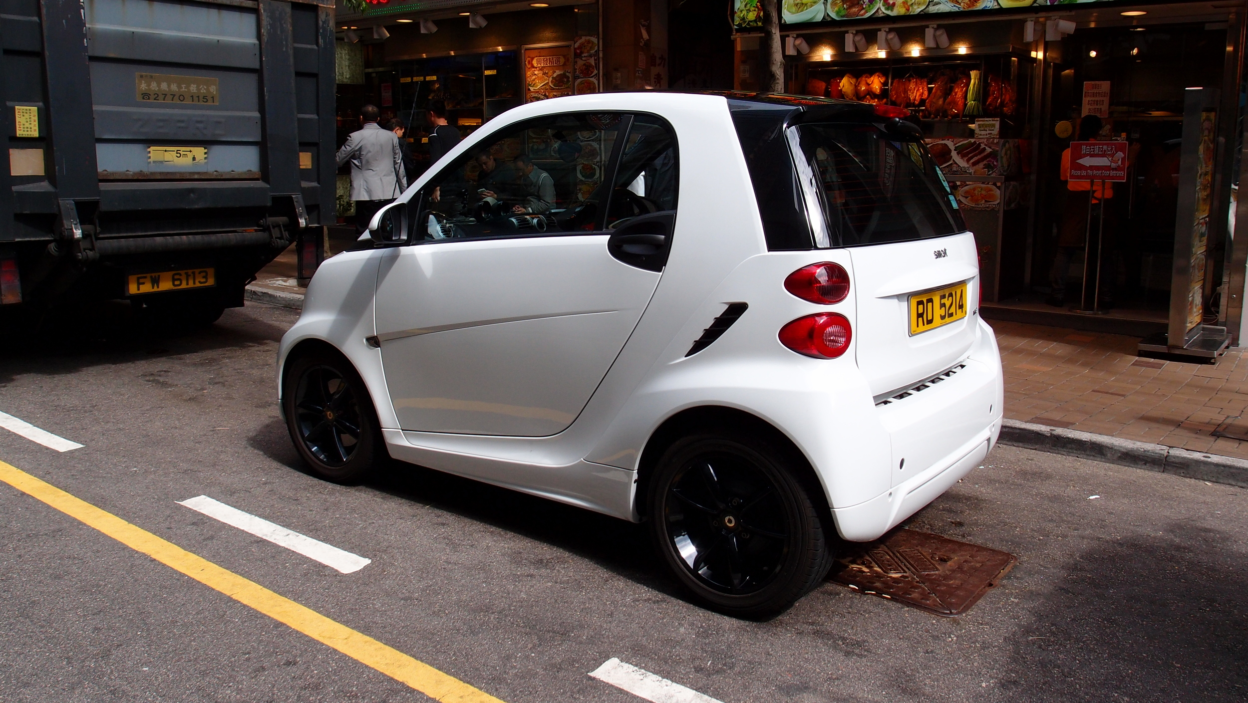 Quite simply the worst car ever invented, even the Reliant Robin has more class than this abomination!