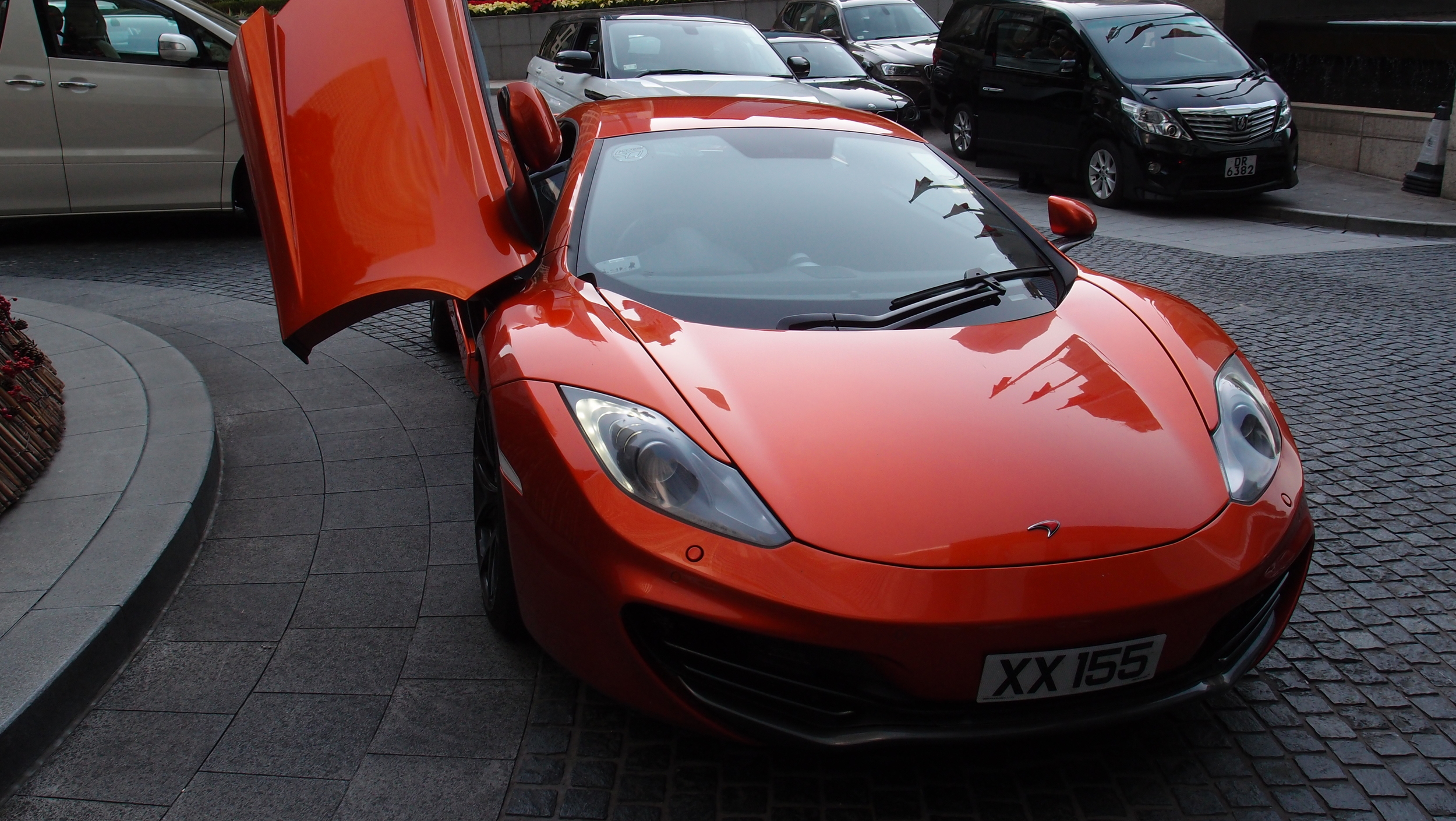 McLaren at the Four Seasons Hotel