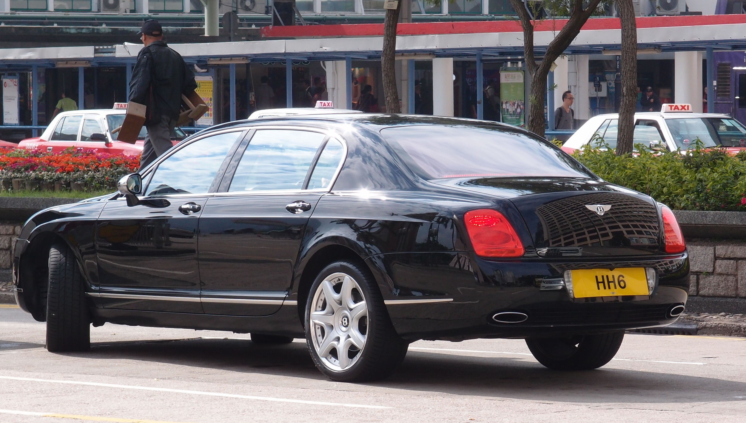 Bentley with great number plate