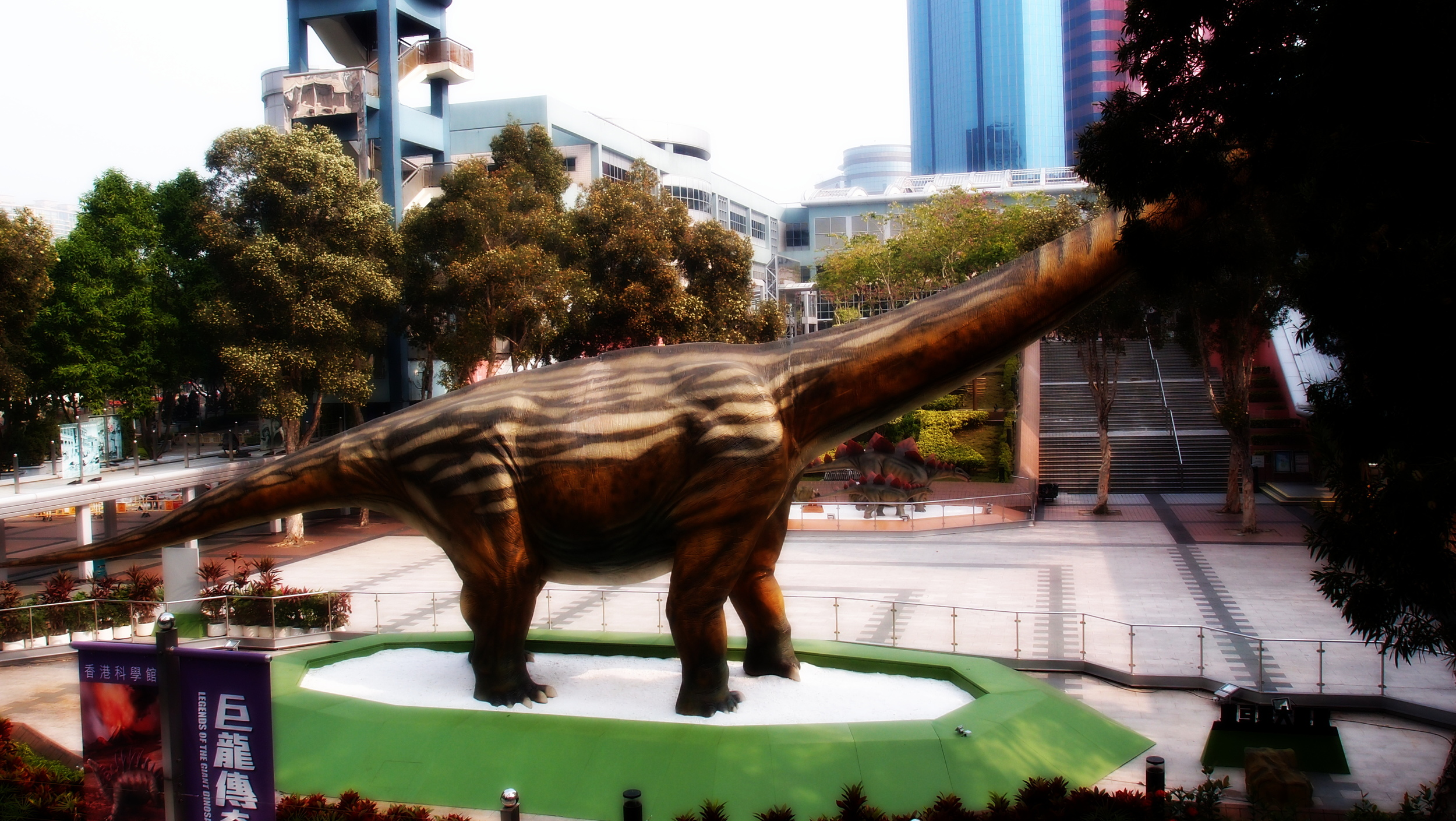 Dinosaurs at the HK Science Museum