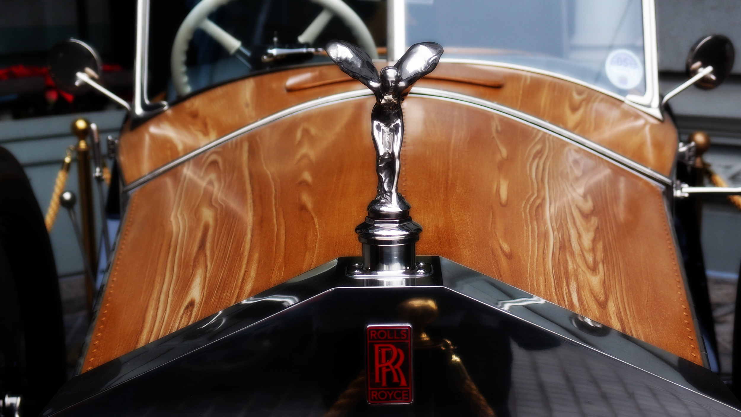 A very old and magnificent Rolls Royce