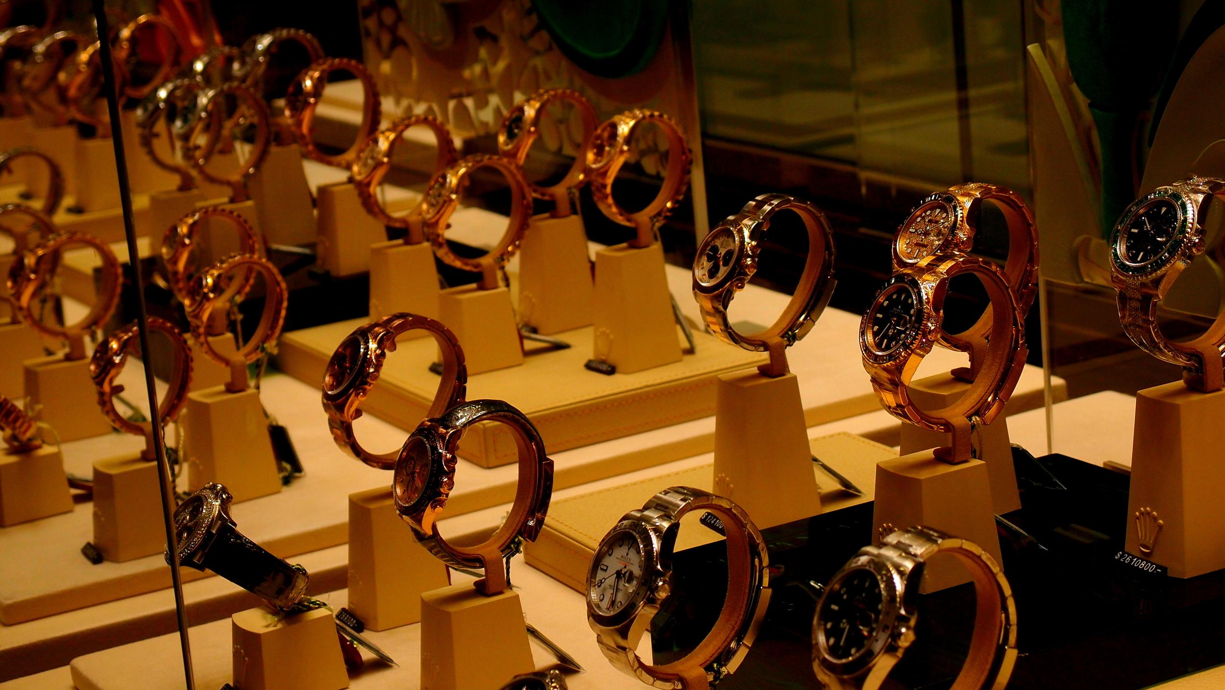 Rolex watches Hong Kong