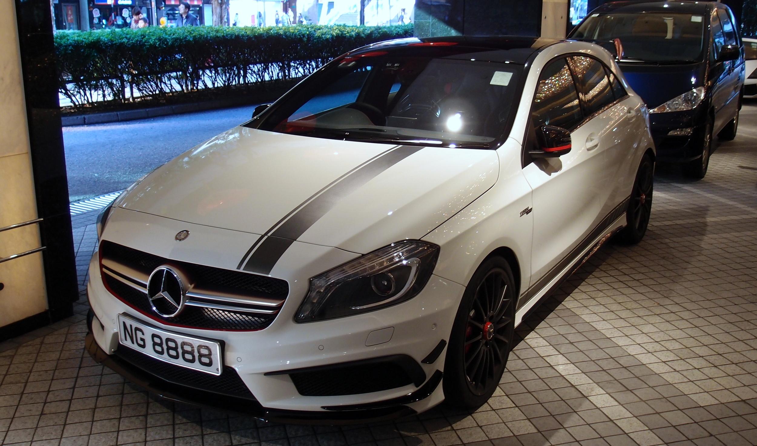 AMG Mercedes A45 Turbo
