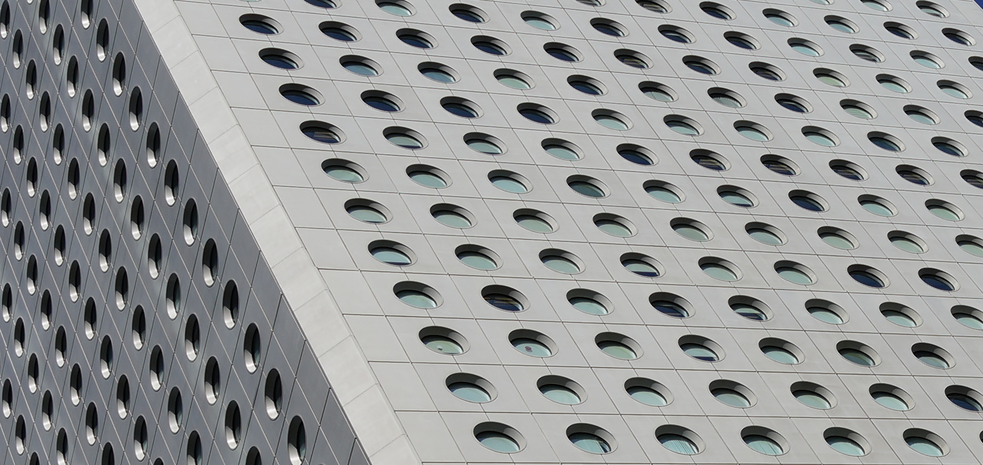 Another shot of Jardine House - aka the building of 1,000 a.sholes!