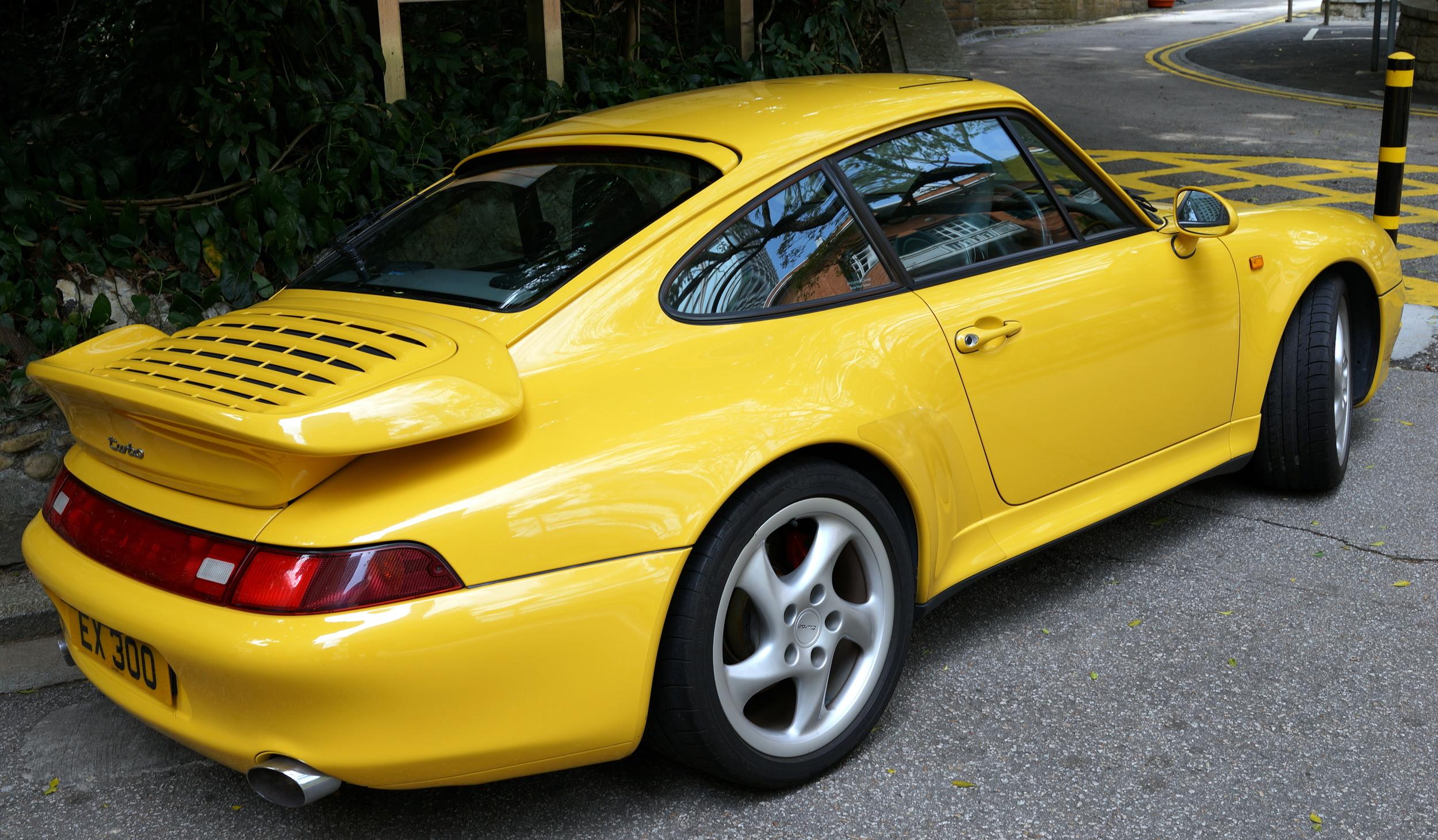 An old Porsche Turbo