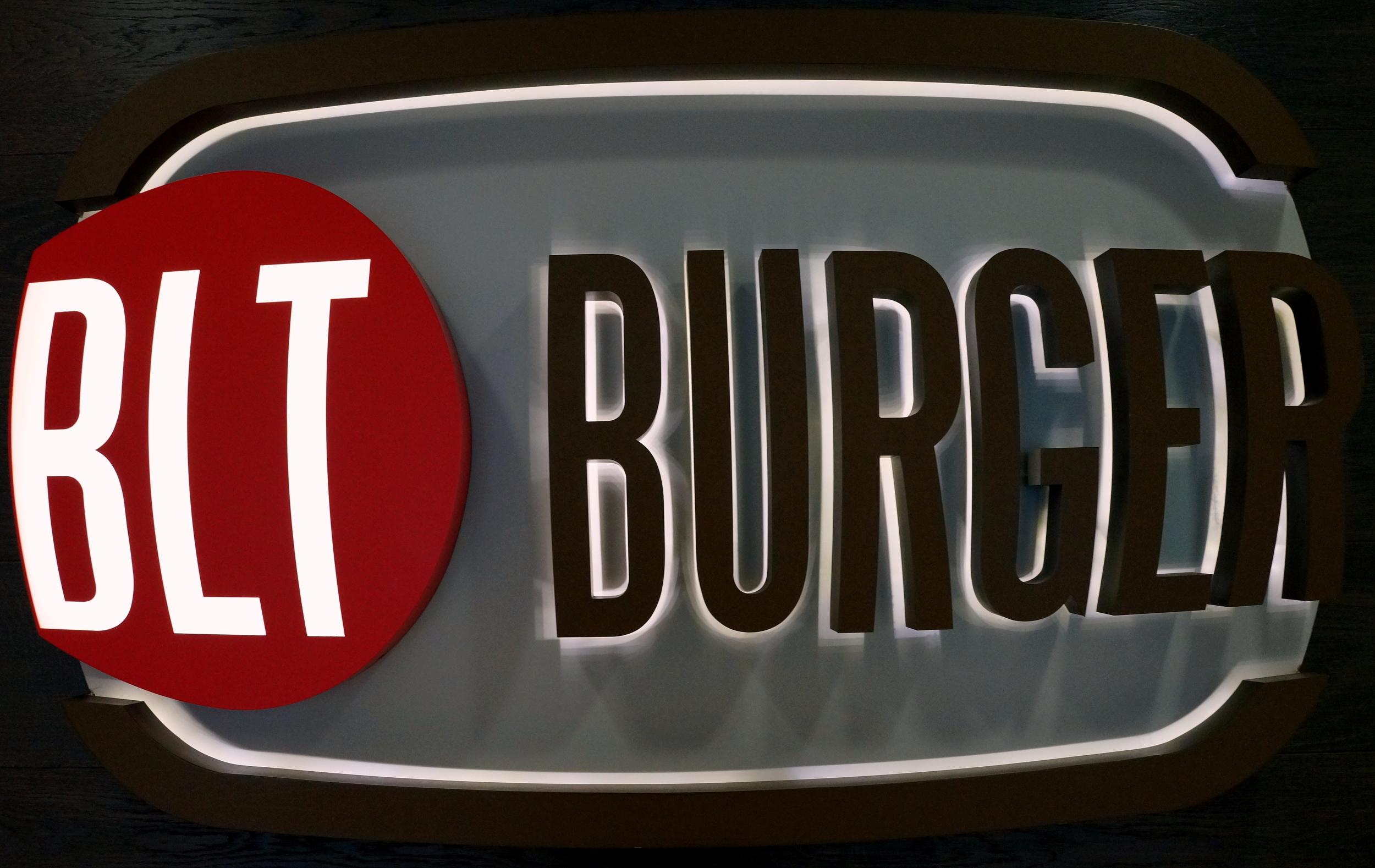 ....they make a darn good burger - Ocean Terminal, TST in Kowloon BLT Burger