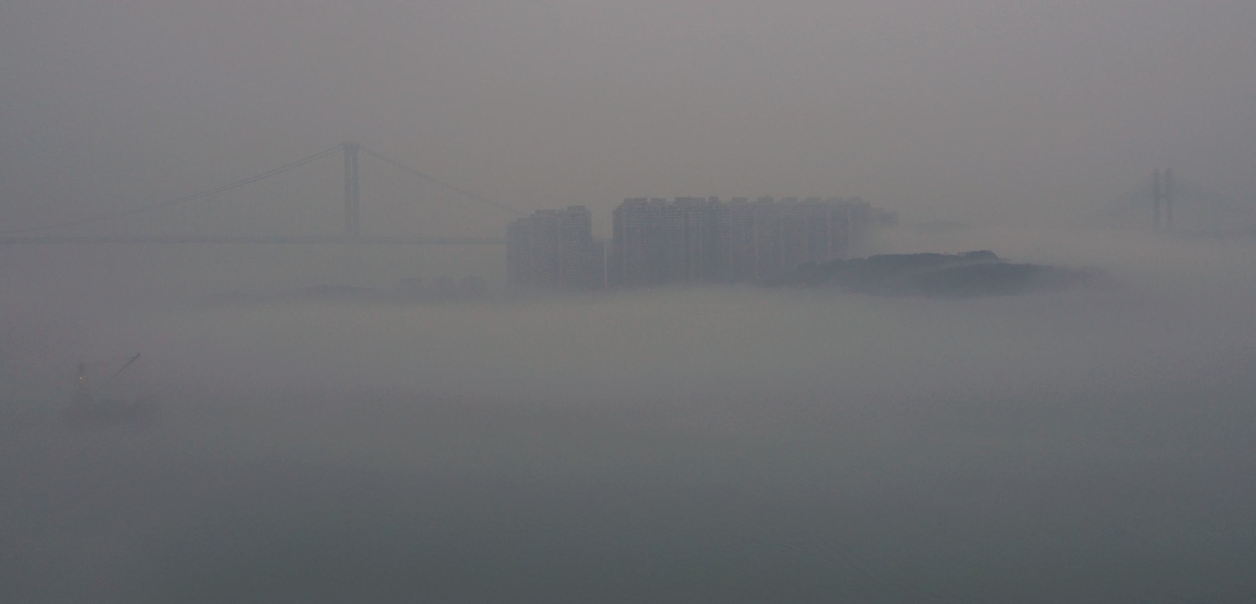 Foggy mornings are normal at this time of the year